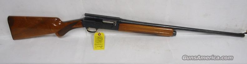 "BROWNING A5 LT 20 261/2"" IMP CYL 1964 PRODUCTION ROUND KNOB GOLD TRIGGER EXCELLENT PLUS  Guns > Shotguns > Browning Shotguns > Autoloaders > Hunting"