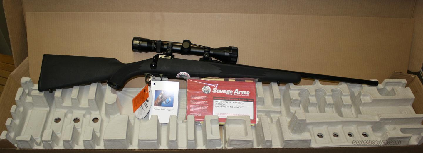 SAVAGE 11FYXP3 7MM-08 REM YOUTH 3-9X40 ACCUTRIGGER NEW IN BOX  Guns > Rifles > Savage Rifles > Accutrigger Models > Sporting