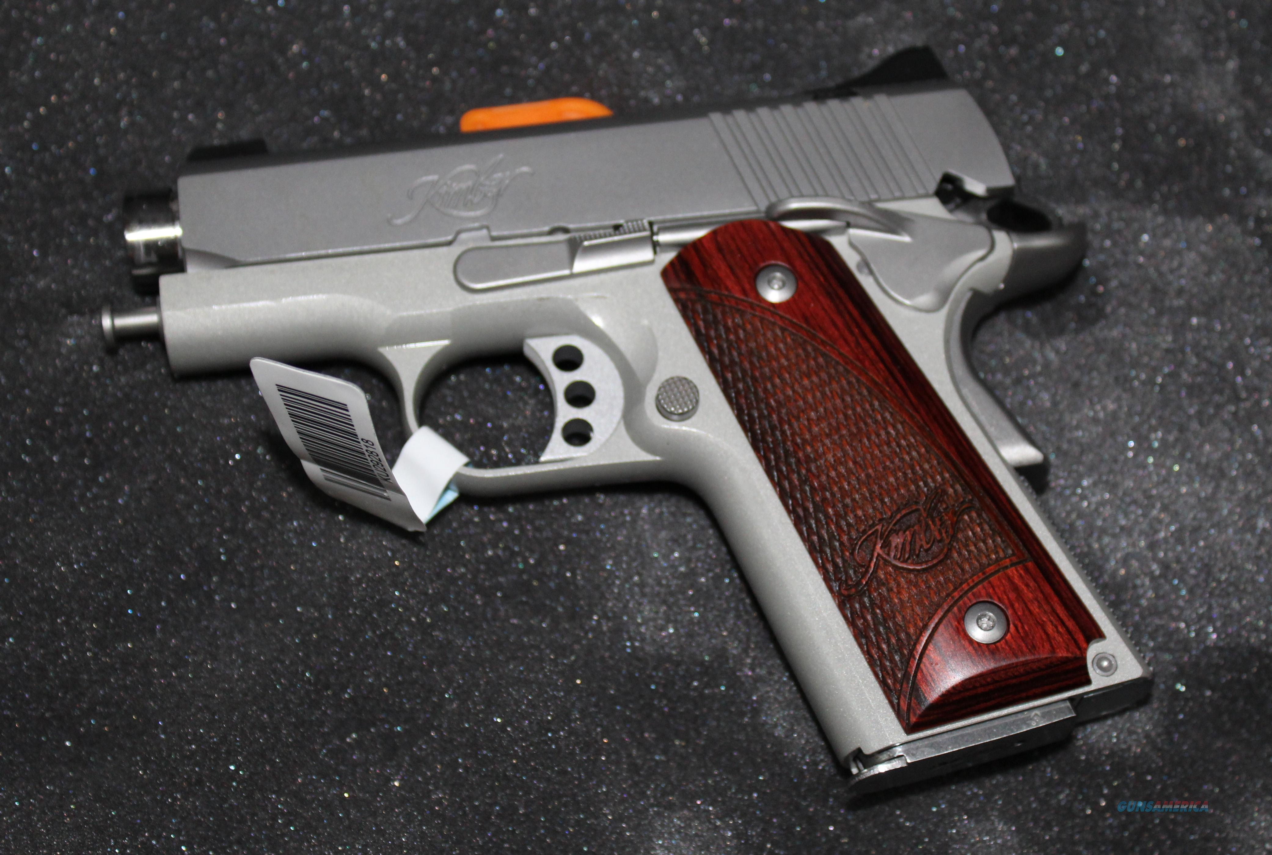 KIMBER STAINLESS ULTRA CARRY II 45 ACP NEW IN BOX  Guns > Pistols > Kimber of America Pistols