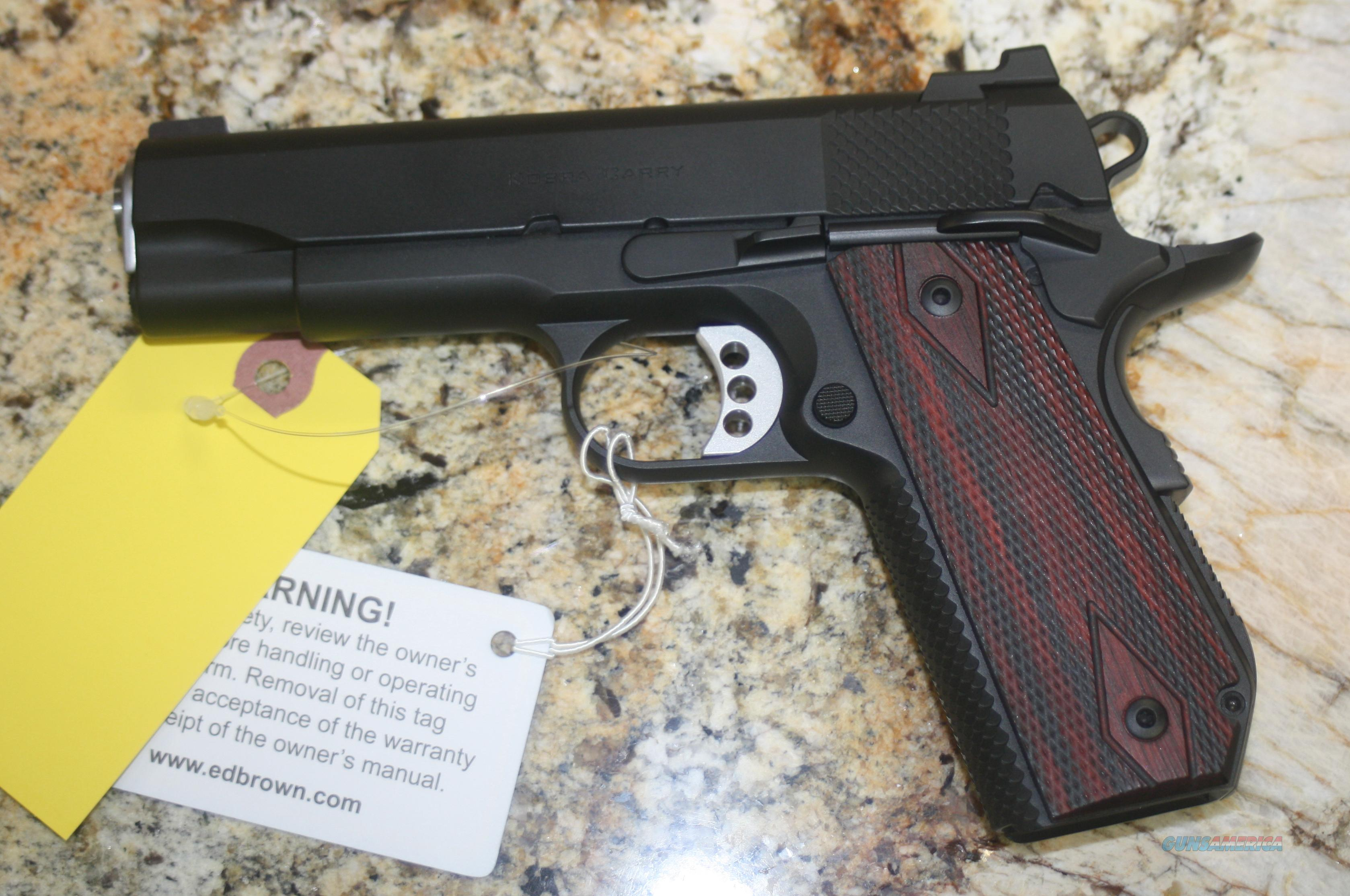 ED BROWN KOBRA CARRY LIGHTWEIGHT  Guns > Pistols > Kimber of America Pistols
