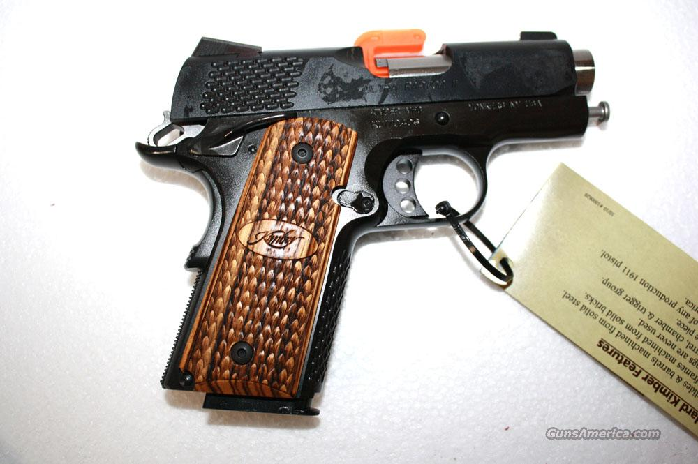 "KIMBER ULTRA RAPTOR II 45ACP 3"" NEW IN HARD CASE  Guns > Pistols > Kimber of America Pistols"