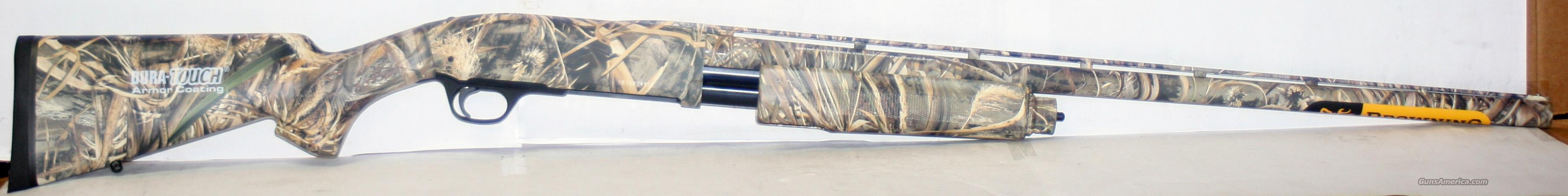 "BROWNING BPS MAX 5 DURA TOUCH 12 GA 28"" 3.5"" MAGNUM NEW IN BOX  Guns > Shotguns > Browning Shotguns > Pump Action > Hunting"