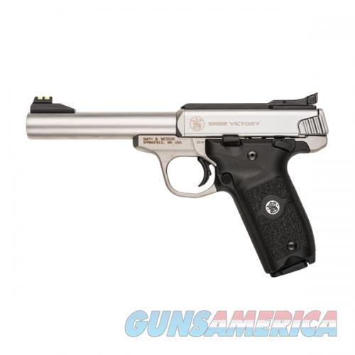 "SMITH & WESSON VICTORY #108490 5.5"" 22 LR 10+1 NEW IN BOX  Guns > Pistols > Smith & Wesson Pistols - Autos > .22 Autos"
