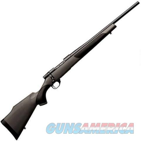 "WEATHERBY ""COMPACT"" VANGUARD 243 WIN BLACK SYNTHETIC NEW IN BOX  Guns > Rifles > Weatherby Rifles > Sporting"
