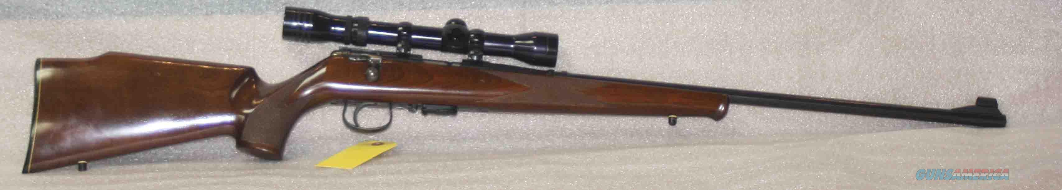 SAVAGE ANSCHUTZ MODEL 164M SPORTER 22 WMR WITH REDFIELD WIDEFIELD LOW PROFILE  Guns > Rifles > Savage Rifles > Other