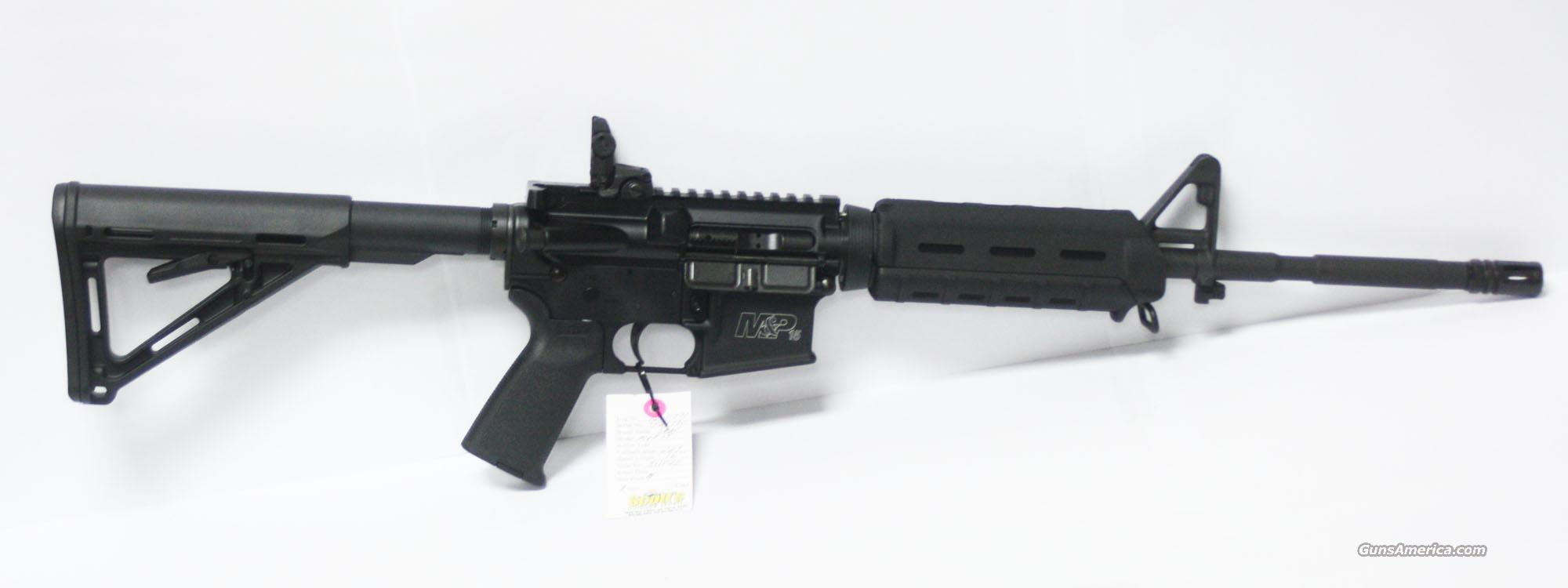 "SMITH & WESSON M&P 15 MOE 223 16"" 30+1 #811020 NEW IN BOX  Guns > Rifles > Smith & Wesson Rifles > M&P"
