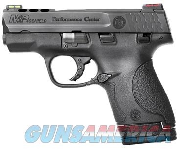 SMITH & WESSON M&P40 PERFORMANCE CENTER PORTED SHIELD NEW IN BOX  Guns > Pistols > Smith & Wesson Pistols - Autos > Polymer Frame