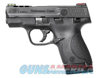 "SMITH & WESSON M&P 9 SHIELD PERFORMANCE CENTER #10108 9MM 3.1"" PORTED NEW IN BOX  Guns > Pistols > Smith & Wesson Pistols - Autos > Polymer Frame"