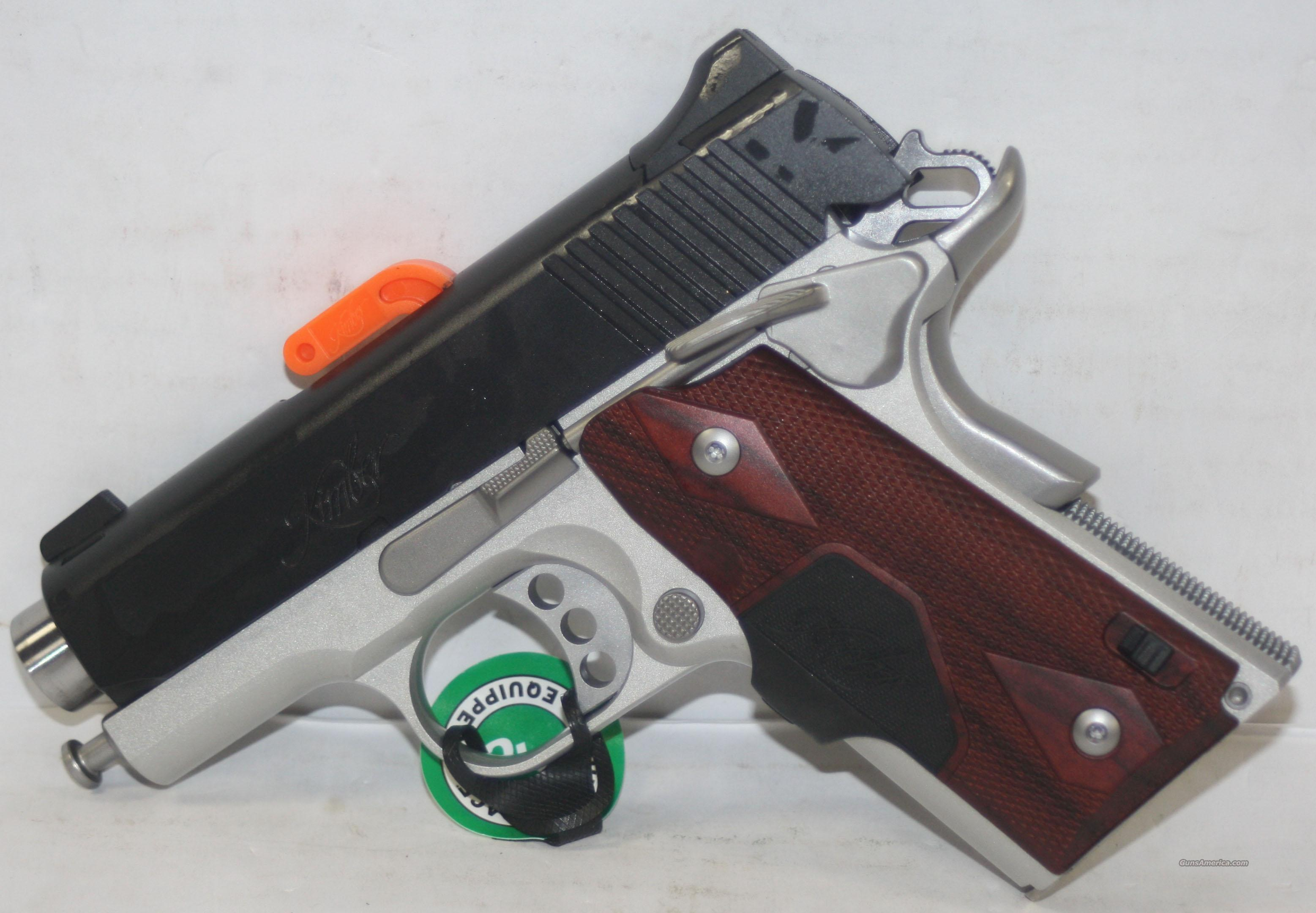 KIMBER ULTRA ULTRA CRIMSON CARRY II 45 ACP WITH GREEN LASER NEW IN HARD CASE  Guns > Pistols > Kimber of America Pistols