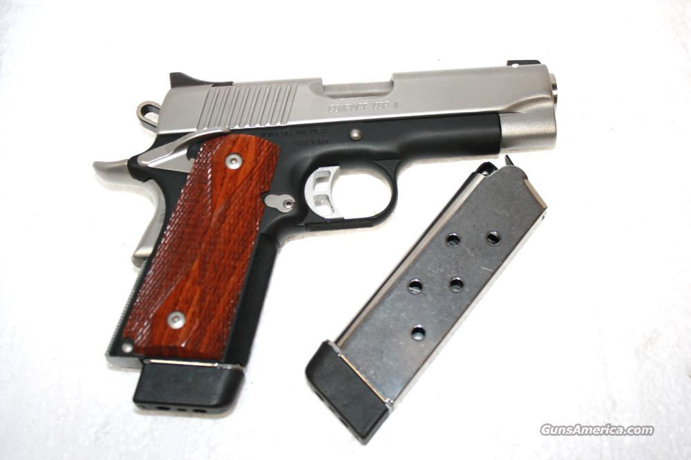 KIMBER COMPACT CDP II WITH TWO MAGAZINES   Guns > Pistols > Kimber of America Pistols