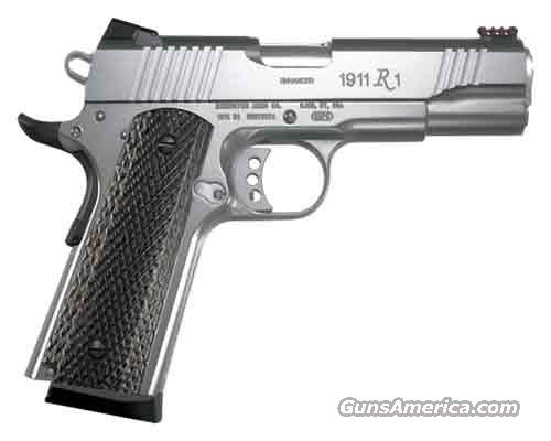 "REMINGTON 1911 R1 ENHANCED 45 ACP 5"" 8+1 NEW IN HARD CASE  Guns > Pistols > Remington Pistols - Modern"