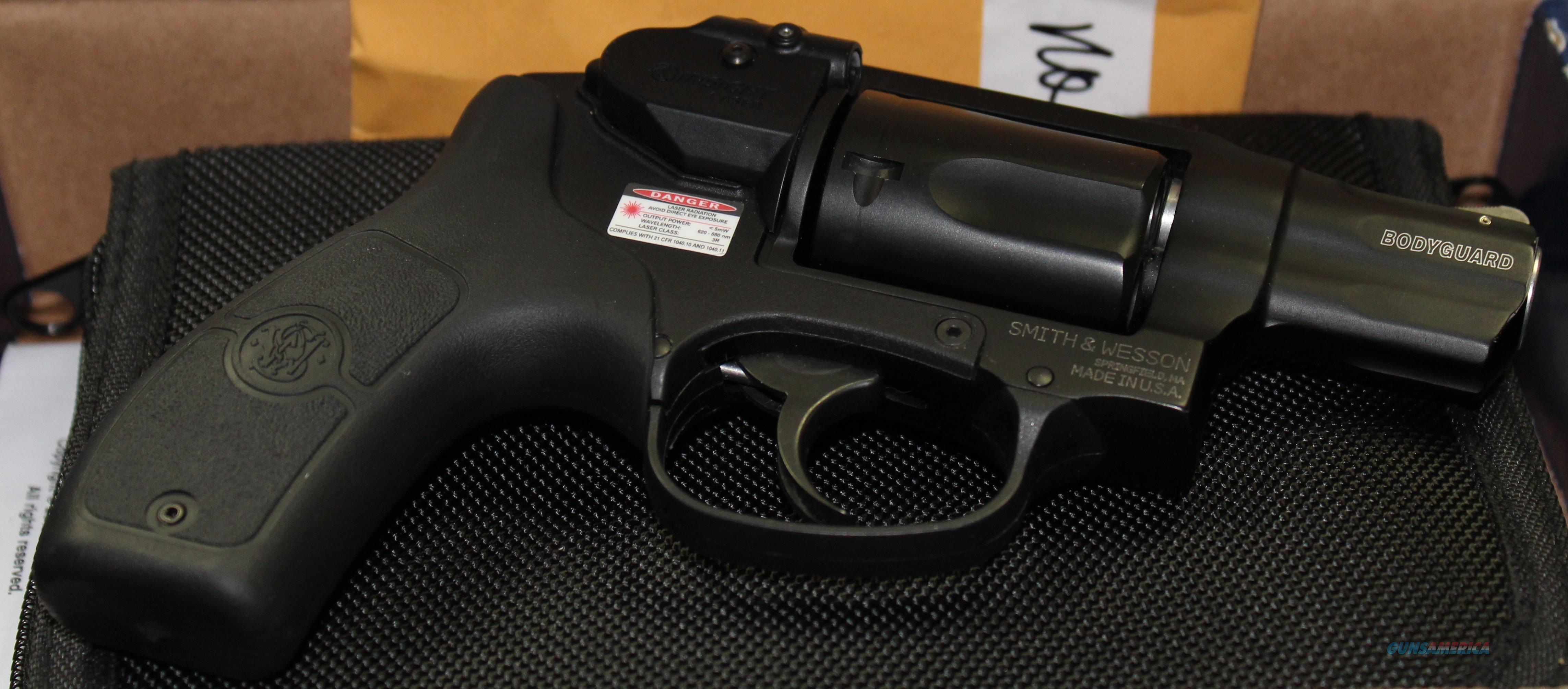 "SMITH & WESSON BODYGUARD 38 SPL 1.875"" REVOLVER WITH LASER  Guns > Pistols > Smith & Wesson Revolvers > Pocket Pistols"