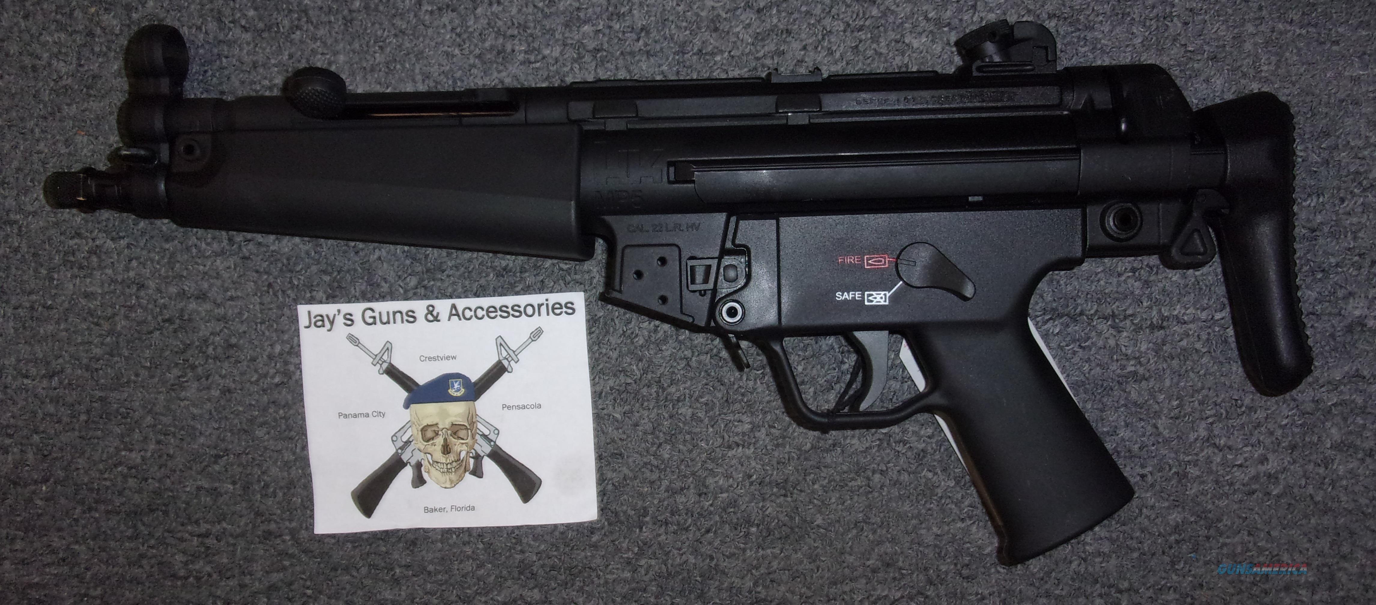 Carl Walther MP5 SBR  Guns > Rifles > Class 3 Rifles > Class 3 Subguns