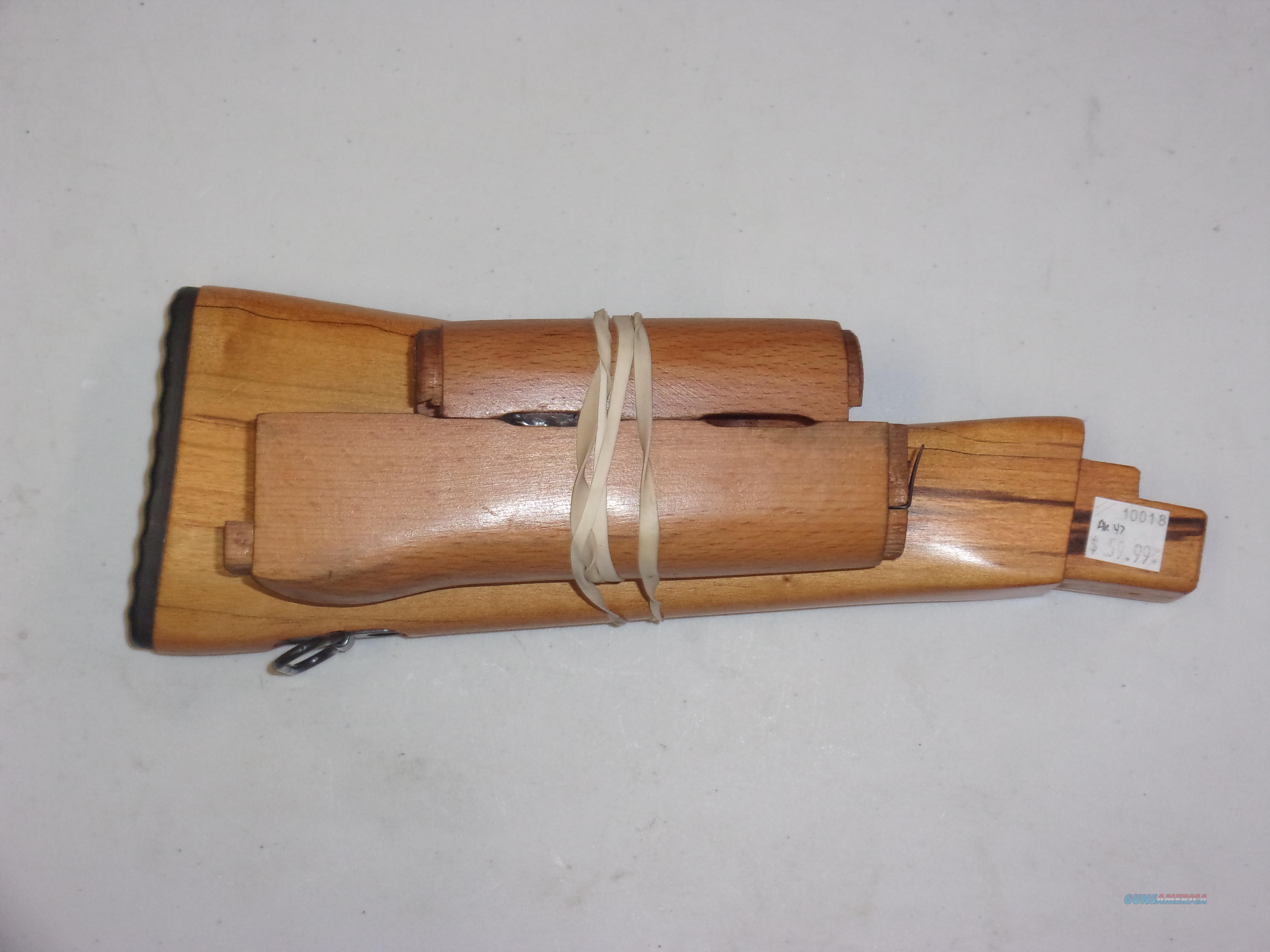 AK 47 Wood Furniture Set  Non-Guns > Gun Parts > Tactical Rails (Non-AR)