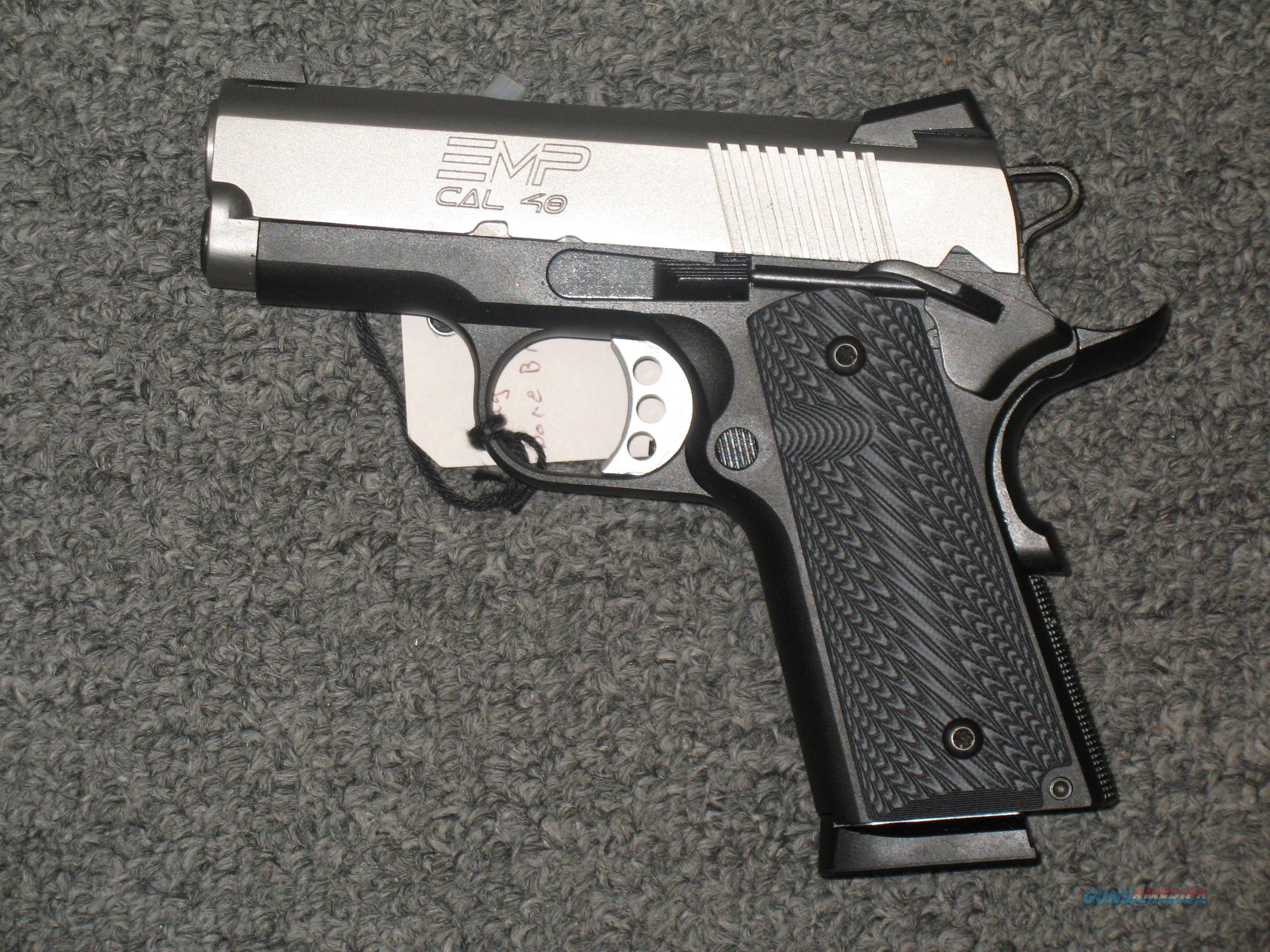 Springfield Armory EMP .40s&w (with Night Sights)  Guns > Pistols > Springfield Armory Pistols > 1911 Type
