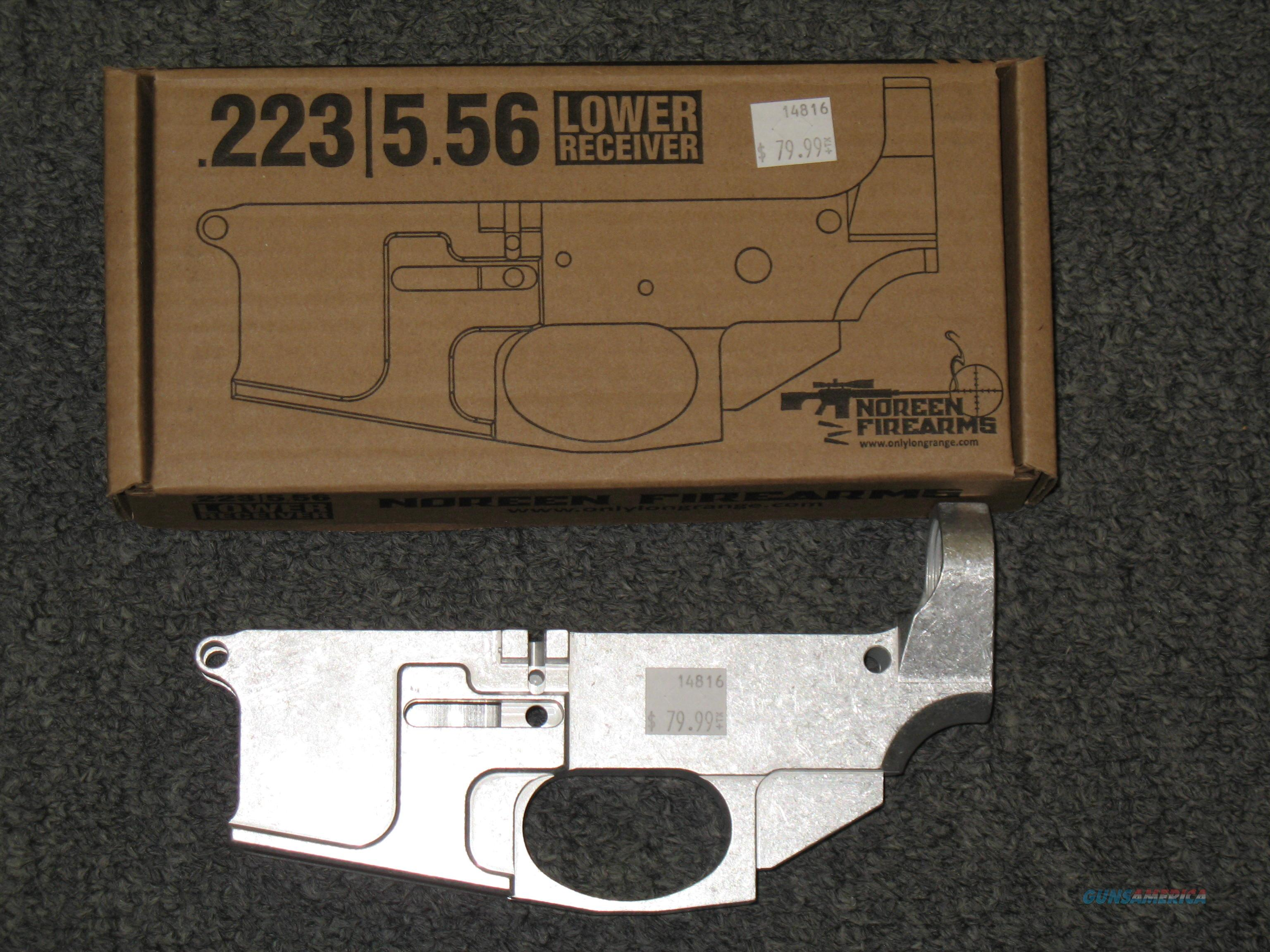 Noreen Firearms AR15 80% Billet Lower Receiver (stripped lower Not complete)  Guns > Rifles > AR-15 Rifles - Small Manufacturers > Lower Only