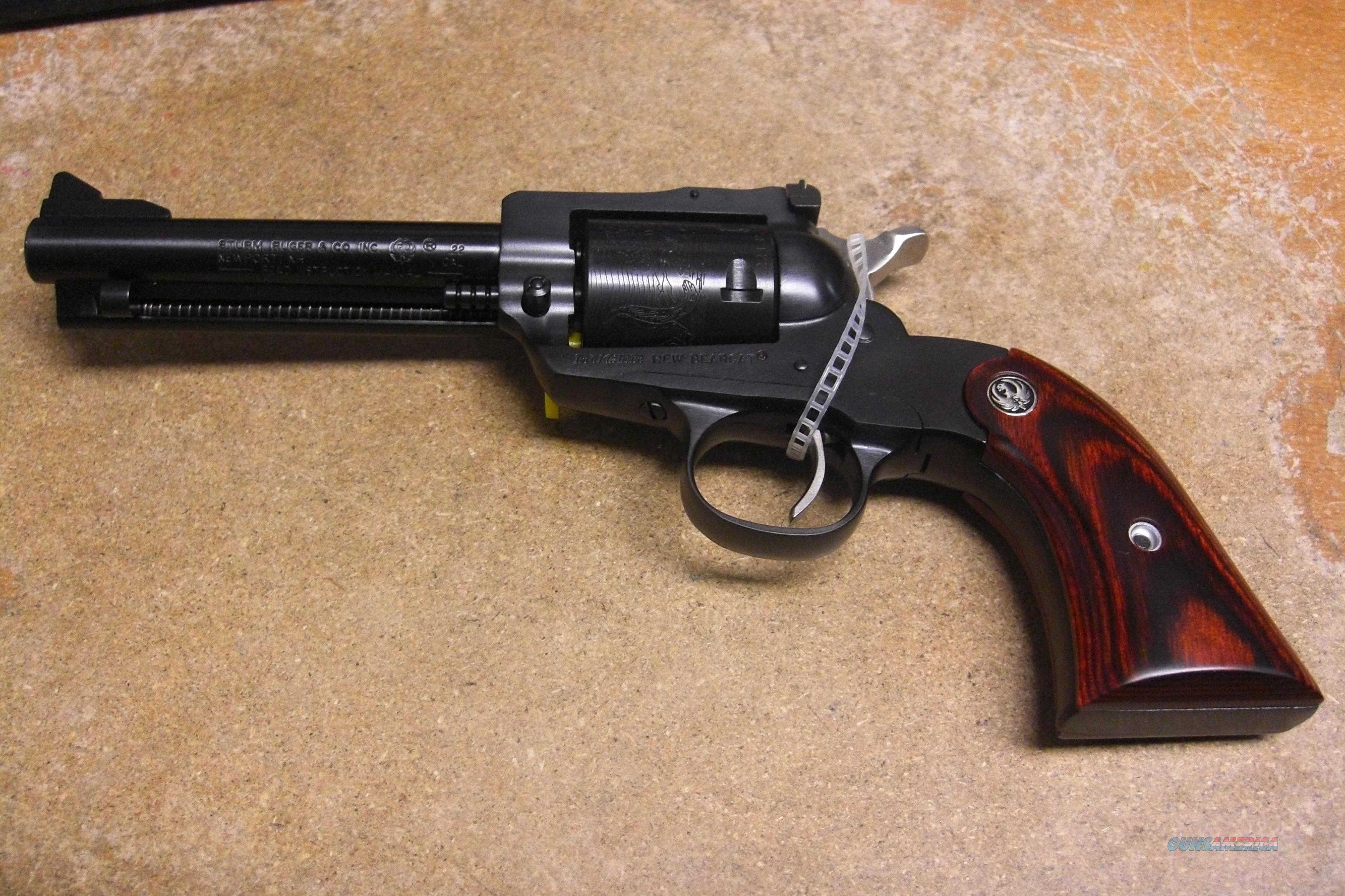 New Bearcat  blued  Guns > Pistols > Ruger Single Action Revolvers > Cowboy Action