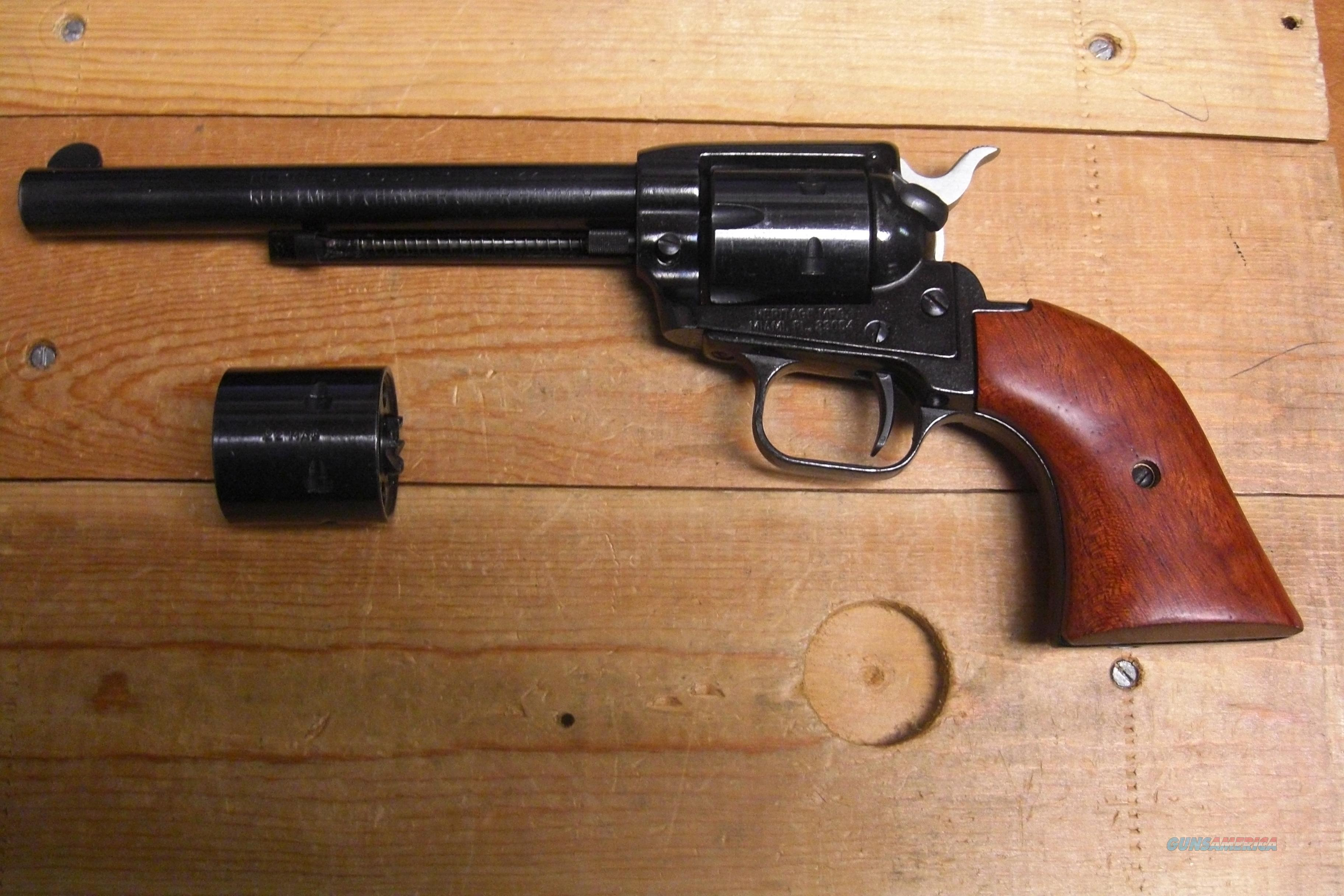 "Heritage Mfg. Rough Rider  w/2 cylinders, 6.5"" bbl.  Guns > Pistols > Cowboy Action Pistol Misc."