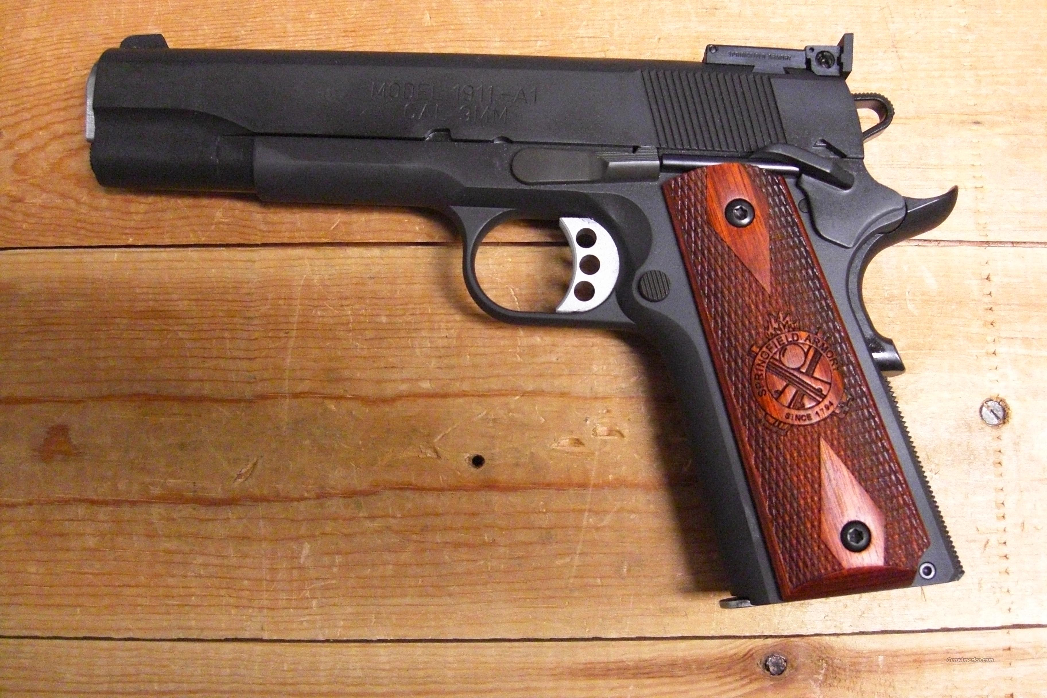 1911-A1 Range Officer 9mm  Guns > Pistols > Springfield Armory Pistols > 1911 Type