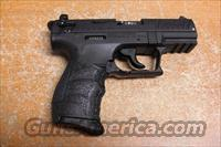 P22 all black  Walther Pistols > Post WWII > Target Pistols