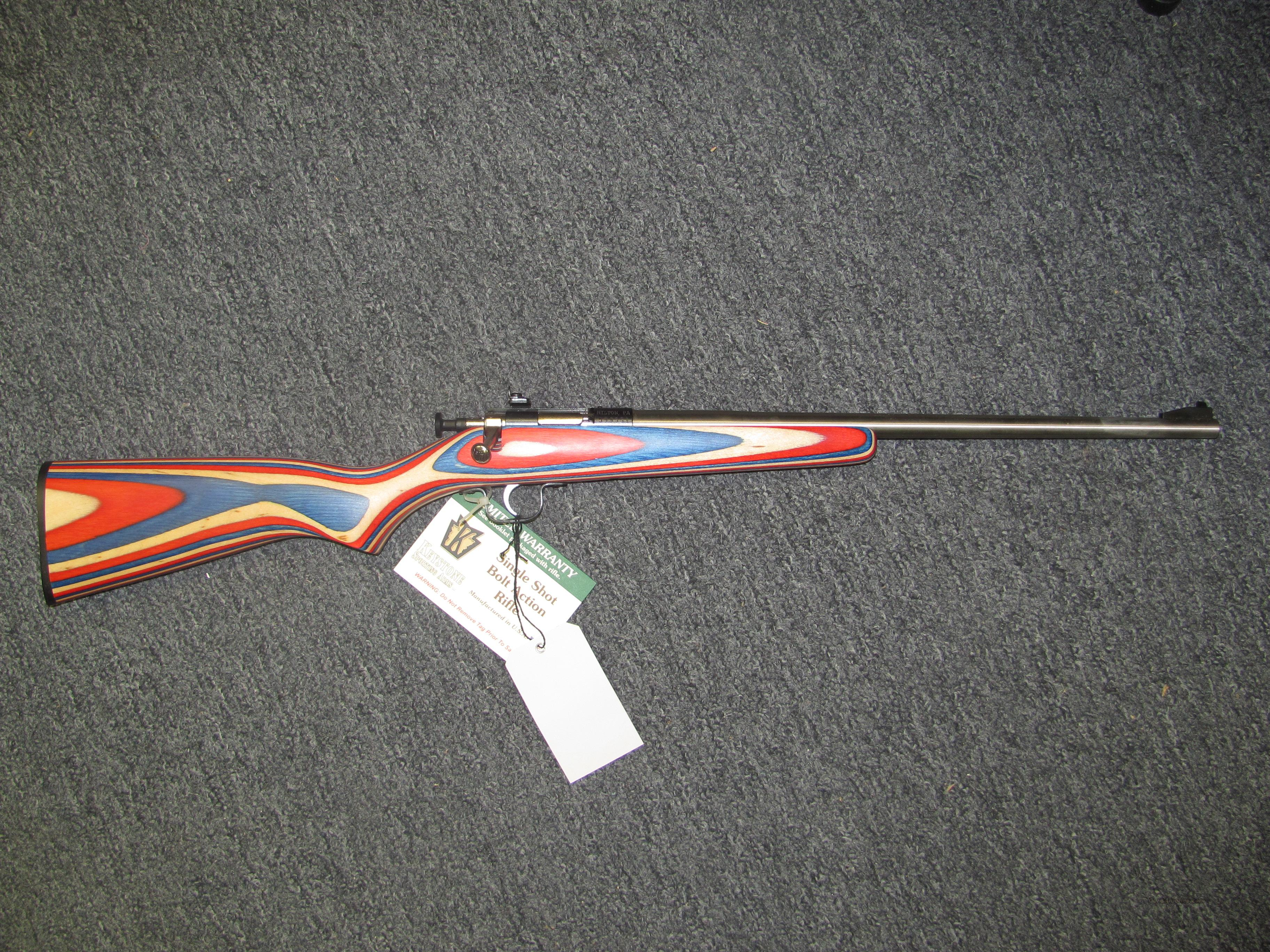 Crickett w/Red, White, & Blue Stock  Guns > Rifles > K Misc Rifles