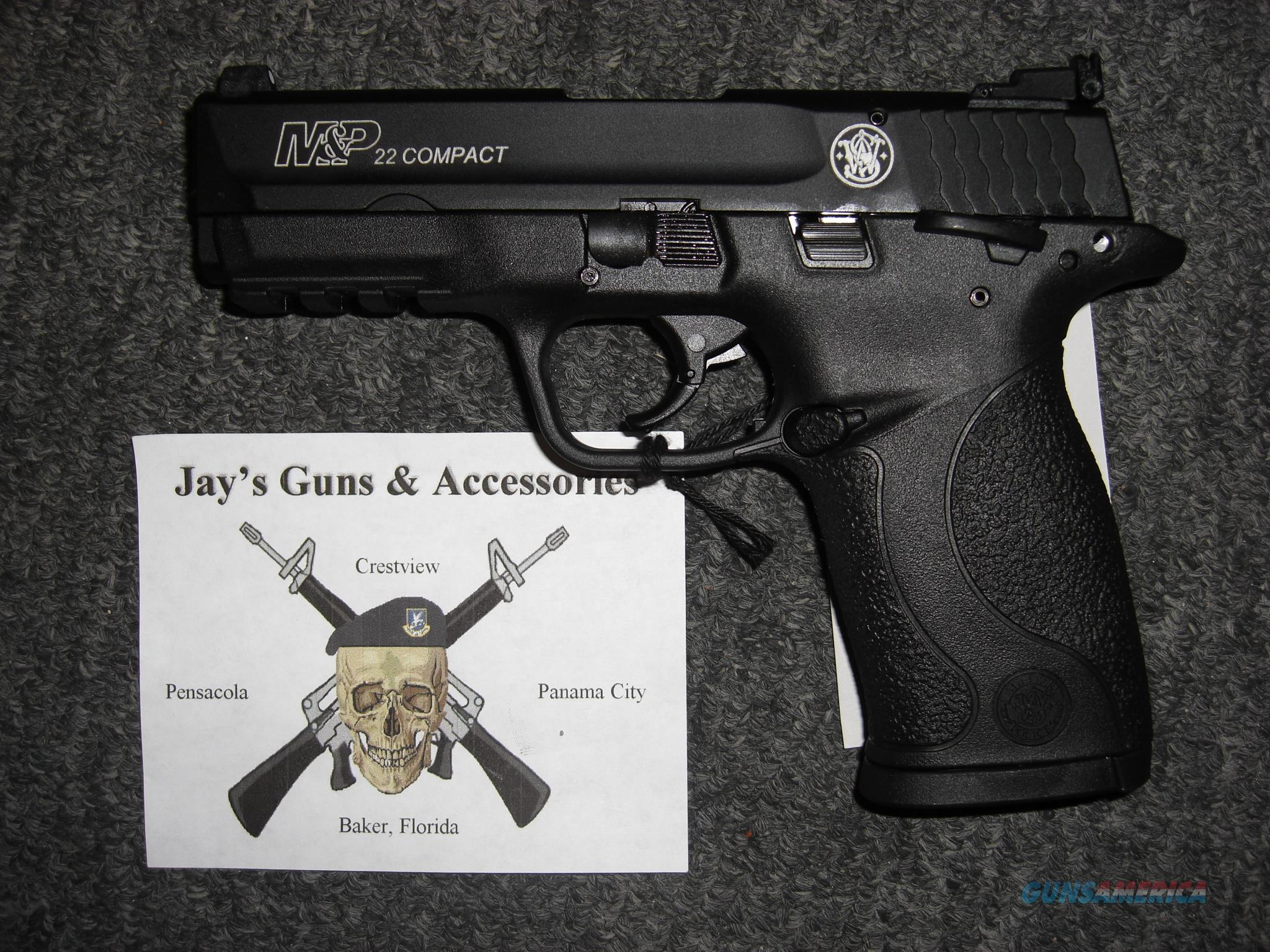 Smith & Wesson M&P22 Compact (108390)  Guns > Pistols > Smith & Wesson Pistols - Autos > Polymer Frame