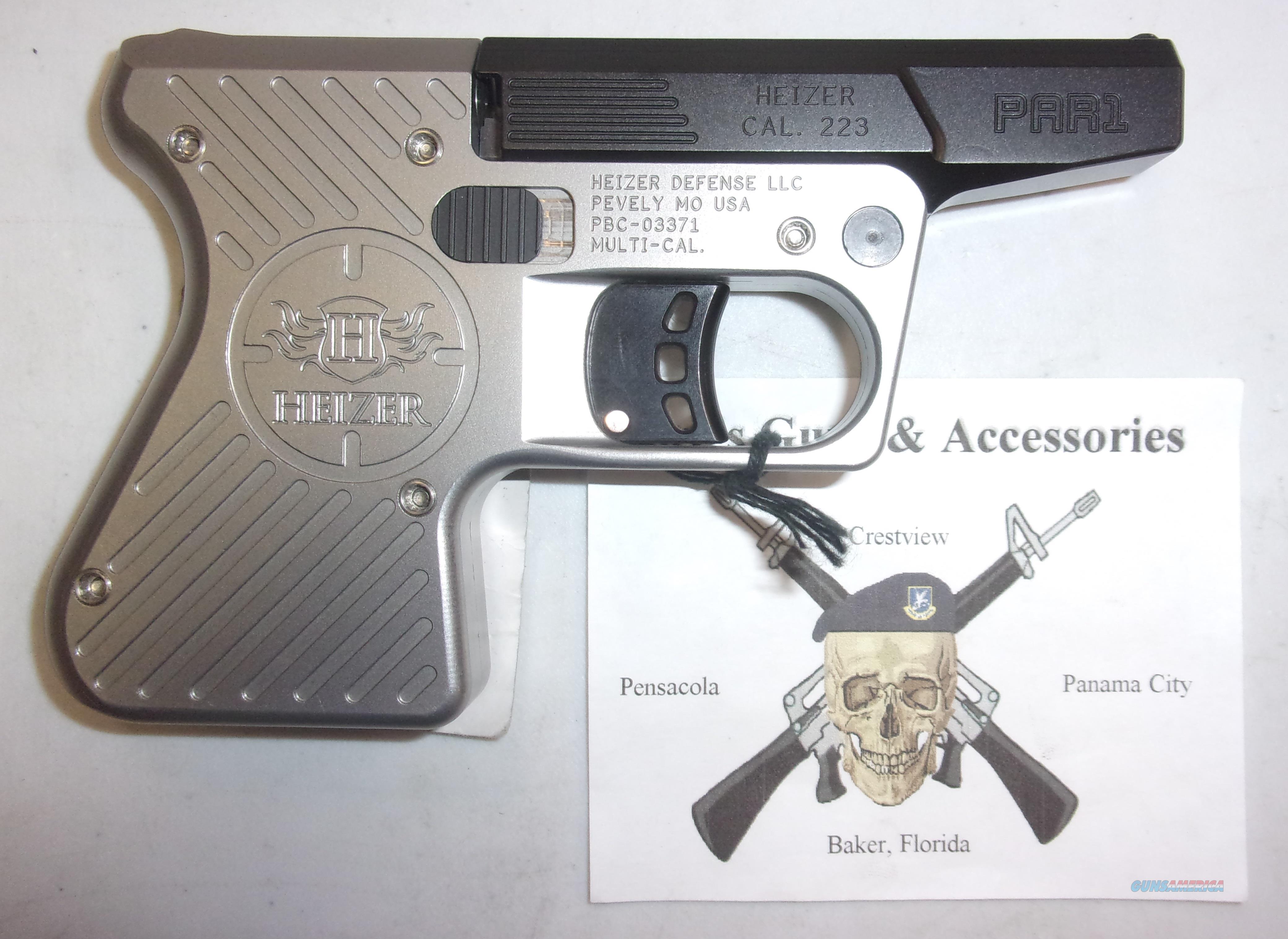 Heizer Defense PAR 1  Guns > Pistols > H Misc Pistols