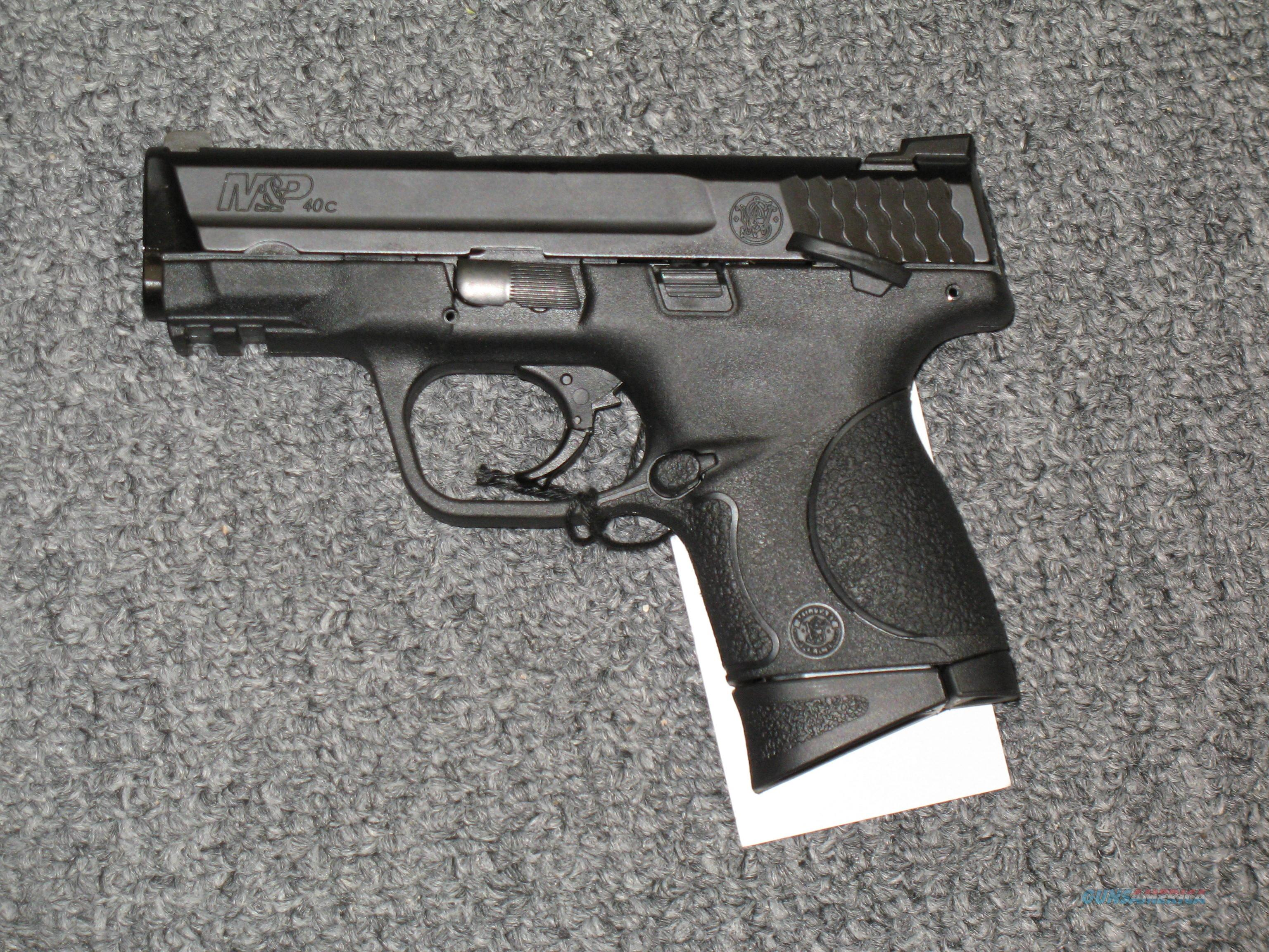 M&P 40c w/thumb safety  Guns > Pistols > Smith & Wesson Pistols - Autos > Polymer Frame