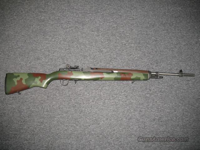 Springfield Armory M1A Super Match (SA9805) w/Camo Finish  Guns > Rifles > Springfield Armory Rifles > M1A/M14