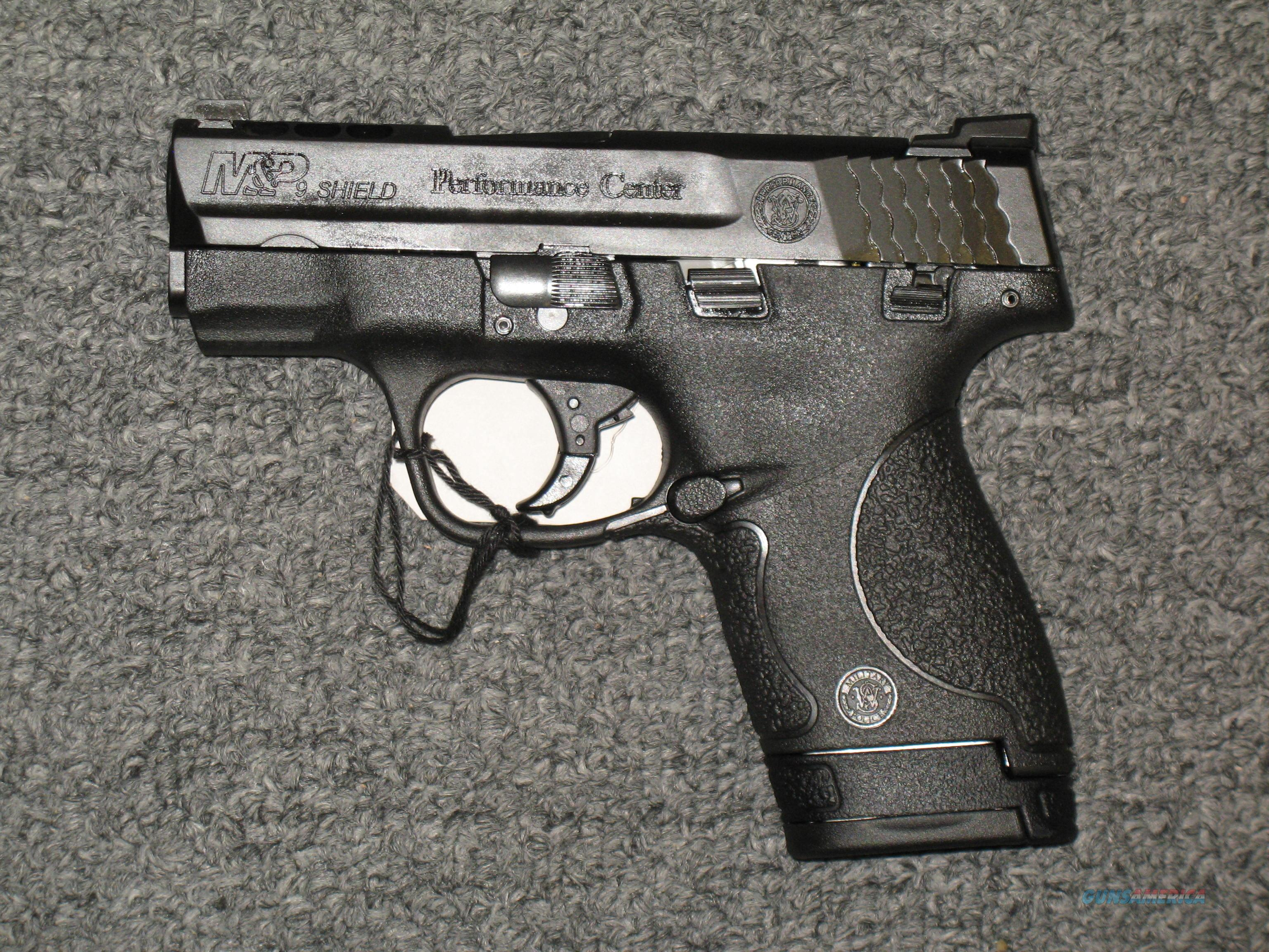 Smith & Wesson M&P9 Shield Performance Center (11630)  Guns > Pistols > Smith & Wesson Pistols - Autos > Shield