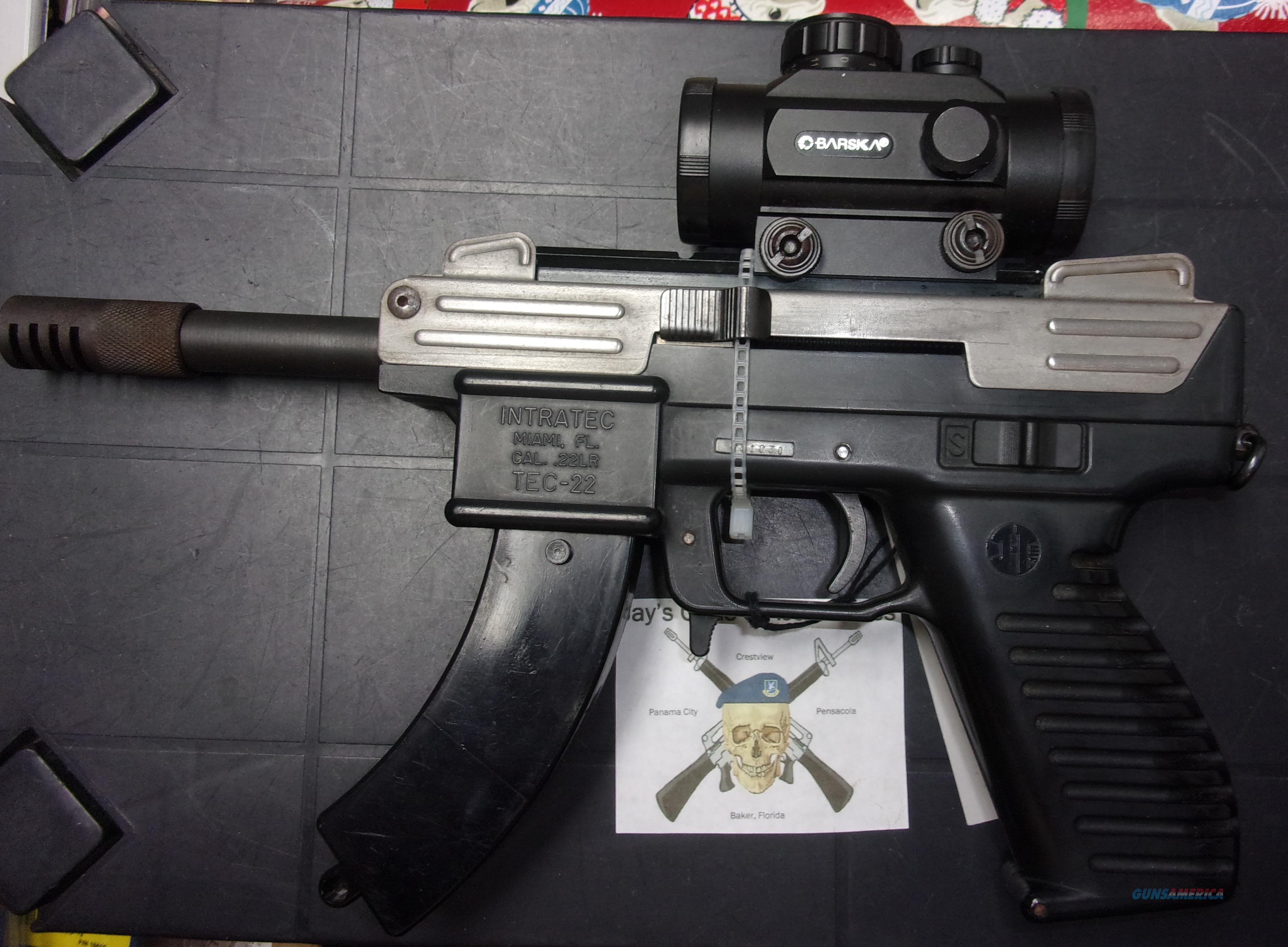 Intratec TEC-22 (Pre-Ban)  Guns > Pistols > Intratec Pistols