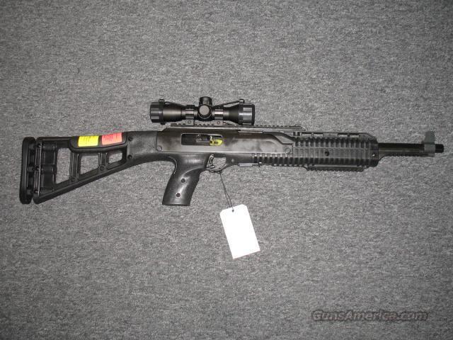 4595 w/under barrel rail, 4x32 scope  Guns > Rifles > Hi Point Rifles