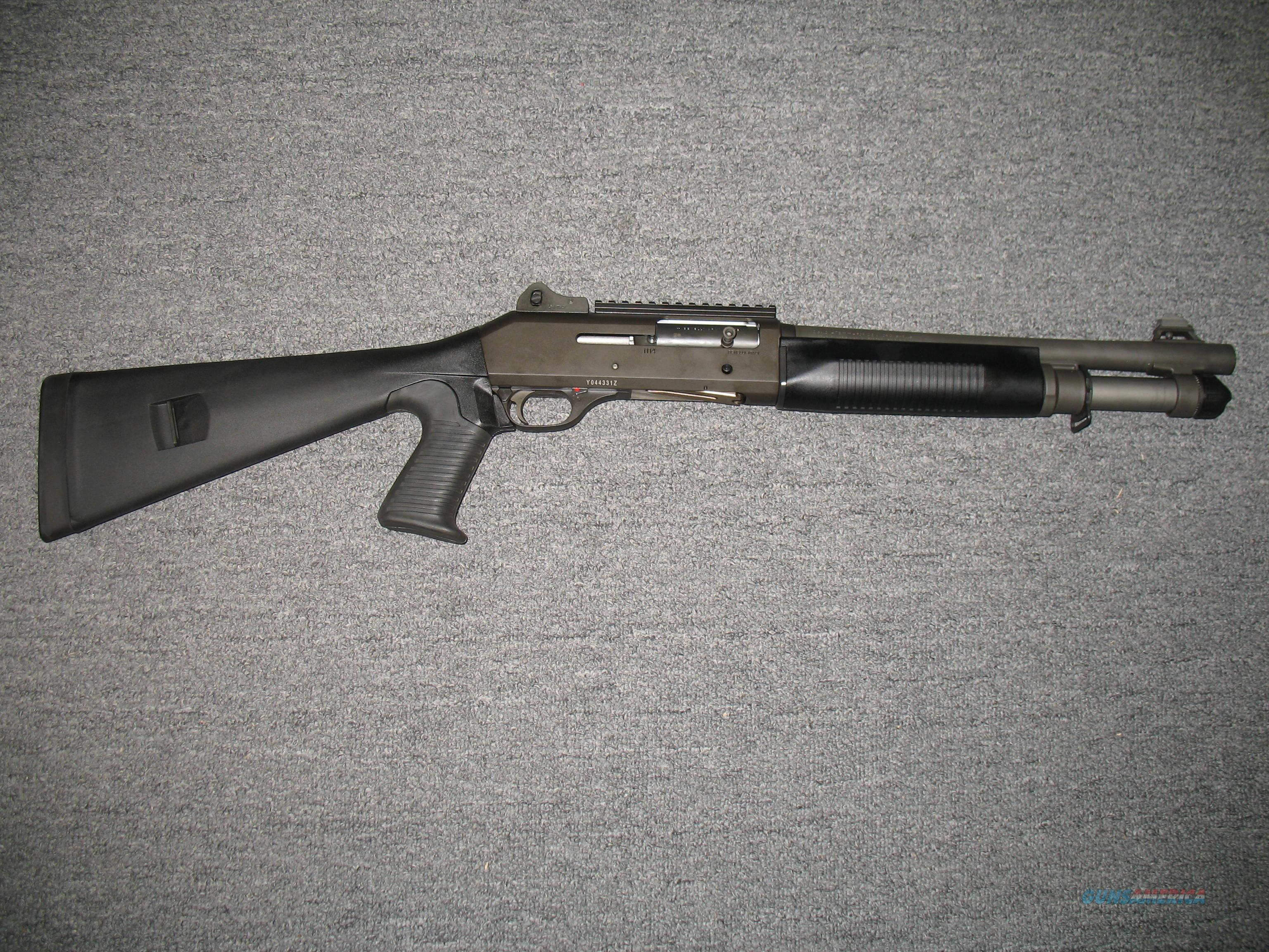 Benelli M4 Entry/Short Barreled Shotgun - Class III (11722)  Guns > Shotguns > Benelli Shotguns > Tactical