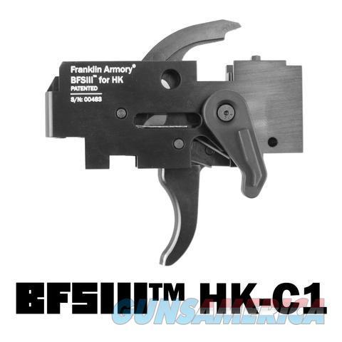 Franklin Armory HK Binary Trigger BFSIII HK-C1 (HK 91/93/MP5)  Non-Guns > Gun Parts > Military - Foreign