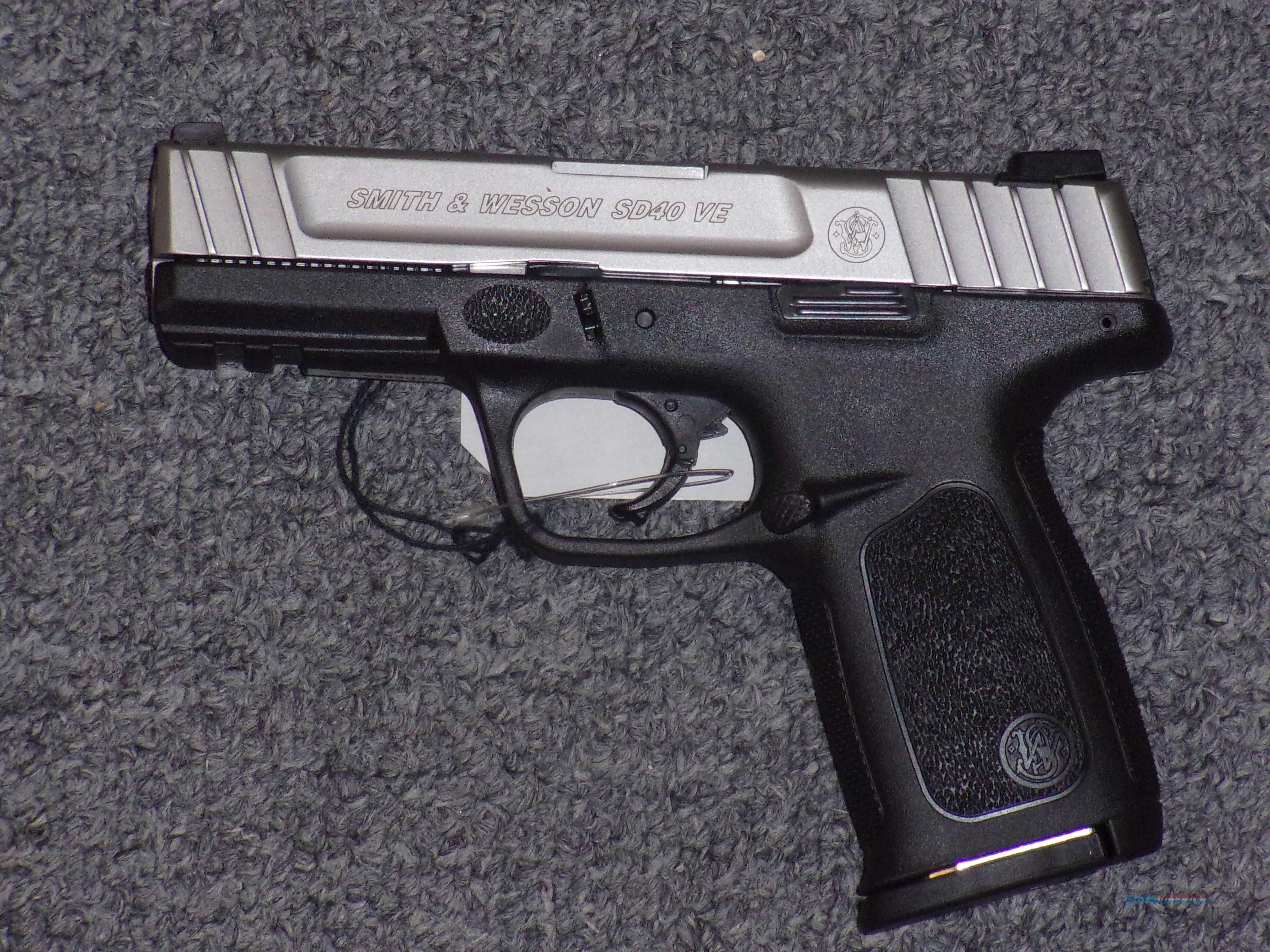 Smith & Wesson SD40 VE   Guns > Pistols > Smith & Wesson Pistols - Autos > Polymer Frame