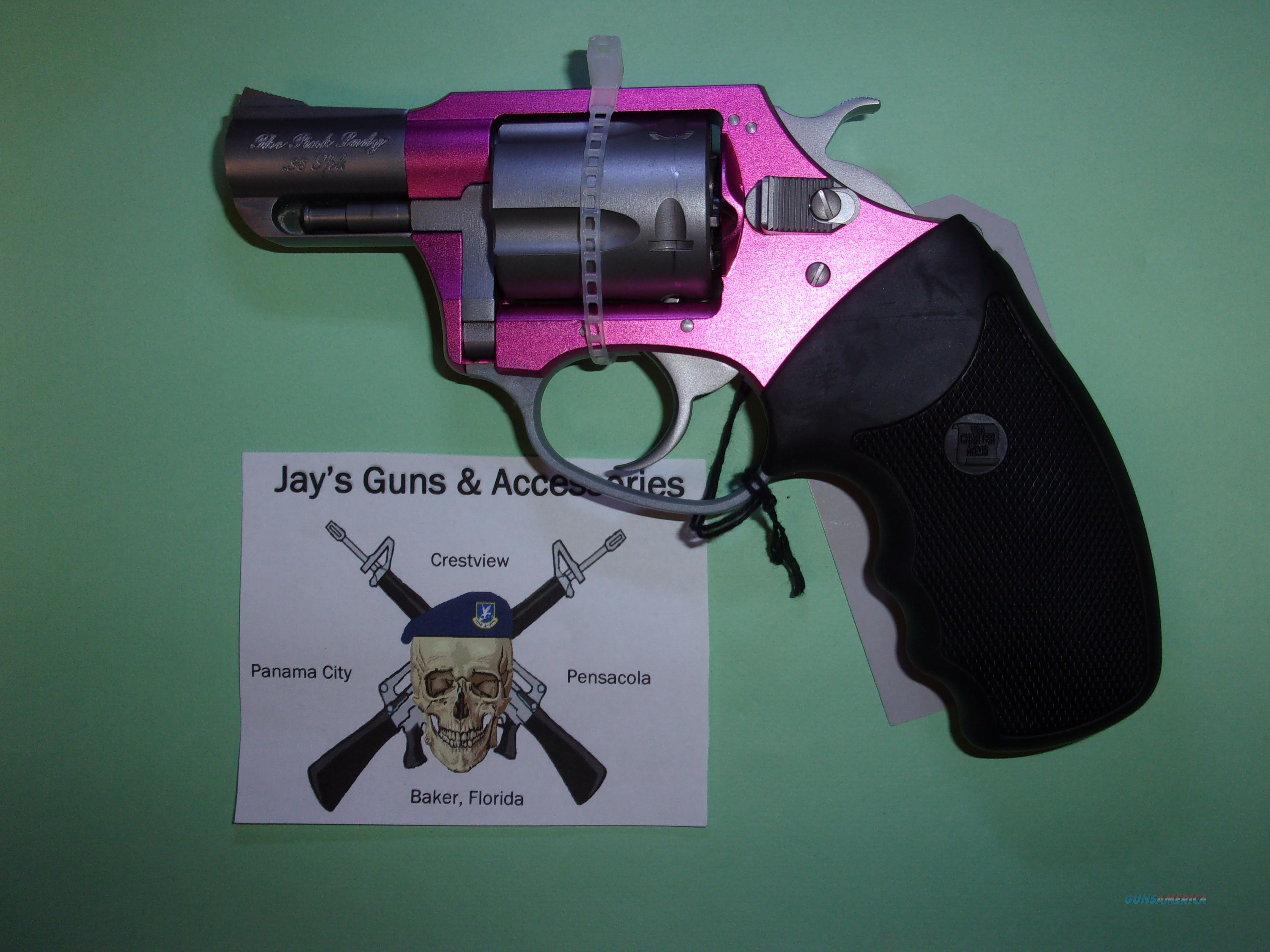 Charter Arms The Pink Lady (53830) w/Pink Anodized Frame  Guns > Pistols > Charter Arms Revolvers
