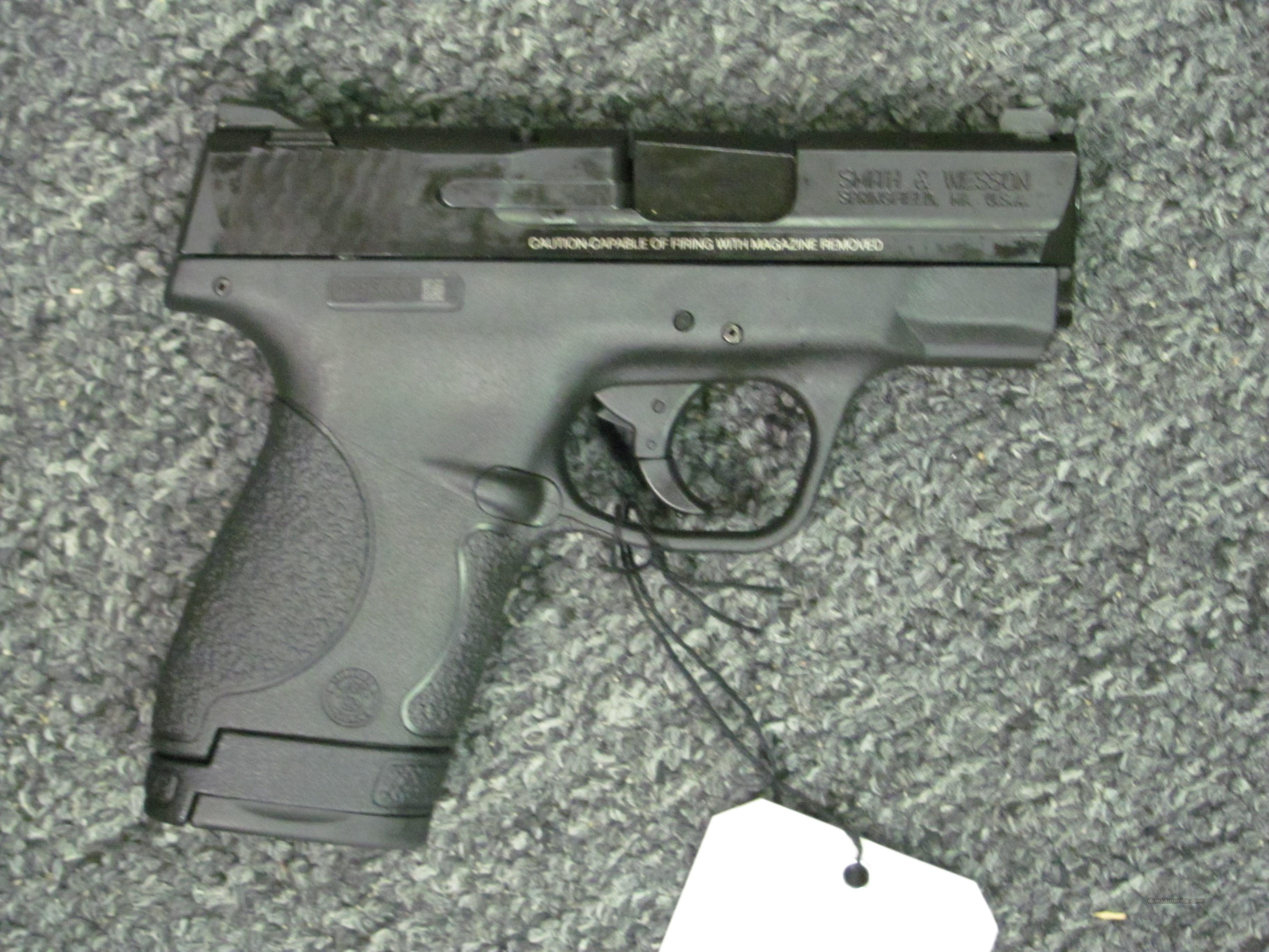 M&P9 Shield with thumb safety (180021)  Guns > Pistols > Smith & Wesson Pistols - Autos > Shield