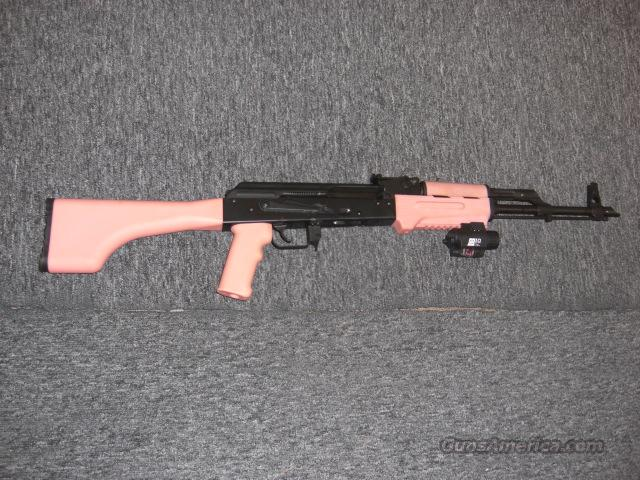 I.O. Inc.  AK-47C  w/pink furniture  Guns > Rifles > AK-47 Rifles (and copies) > Full Stock