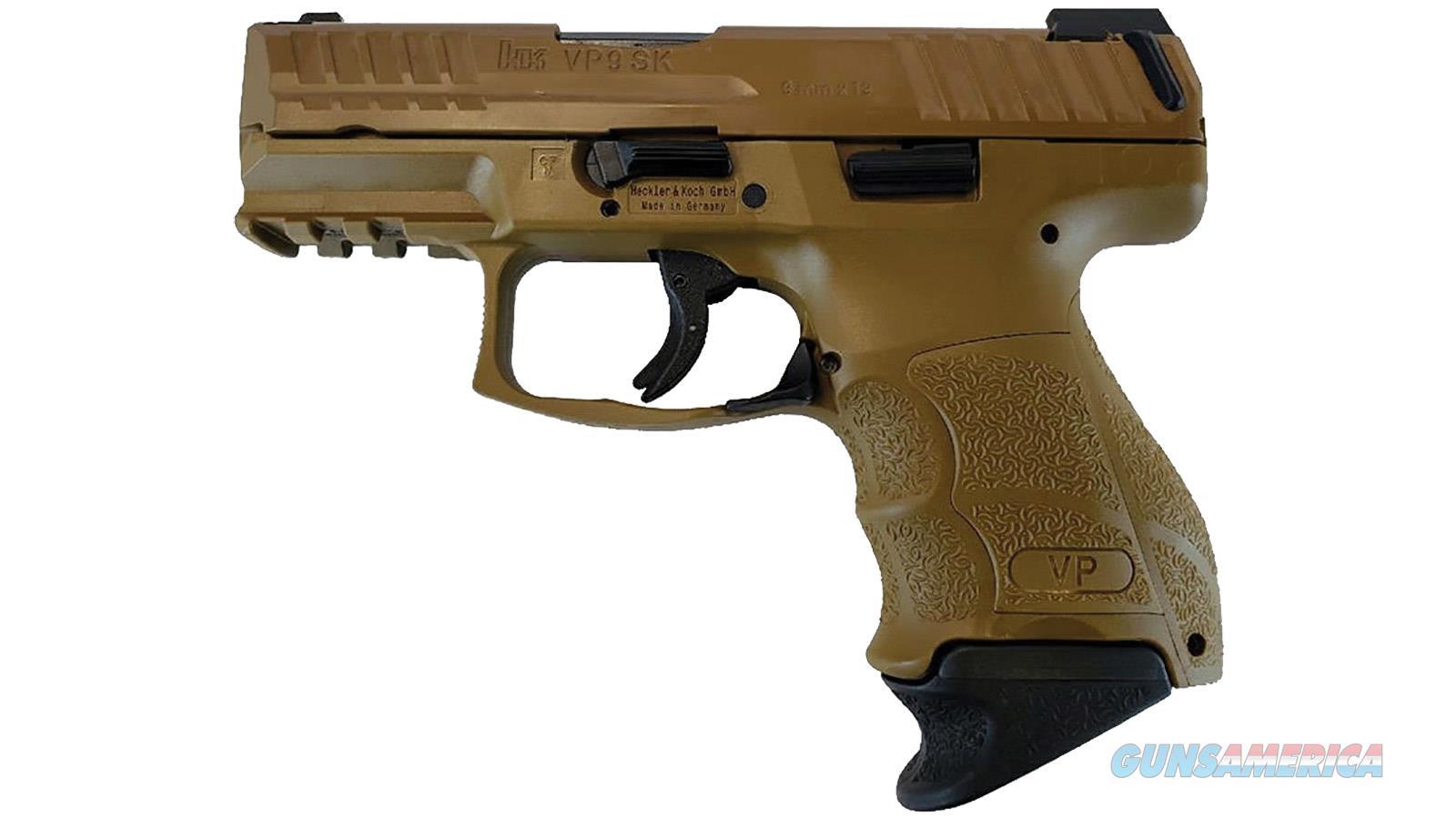 Heckler & Koch VP9 SK w/FDE Finish  Guns > Pistols > Heckler & Koch Pistols > Polymer Frame