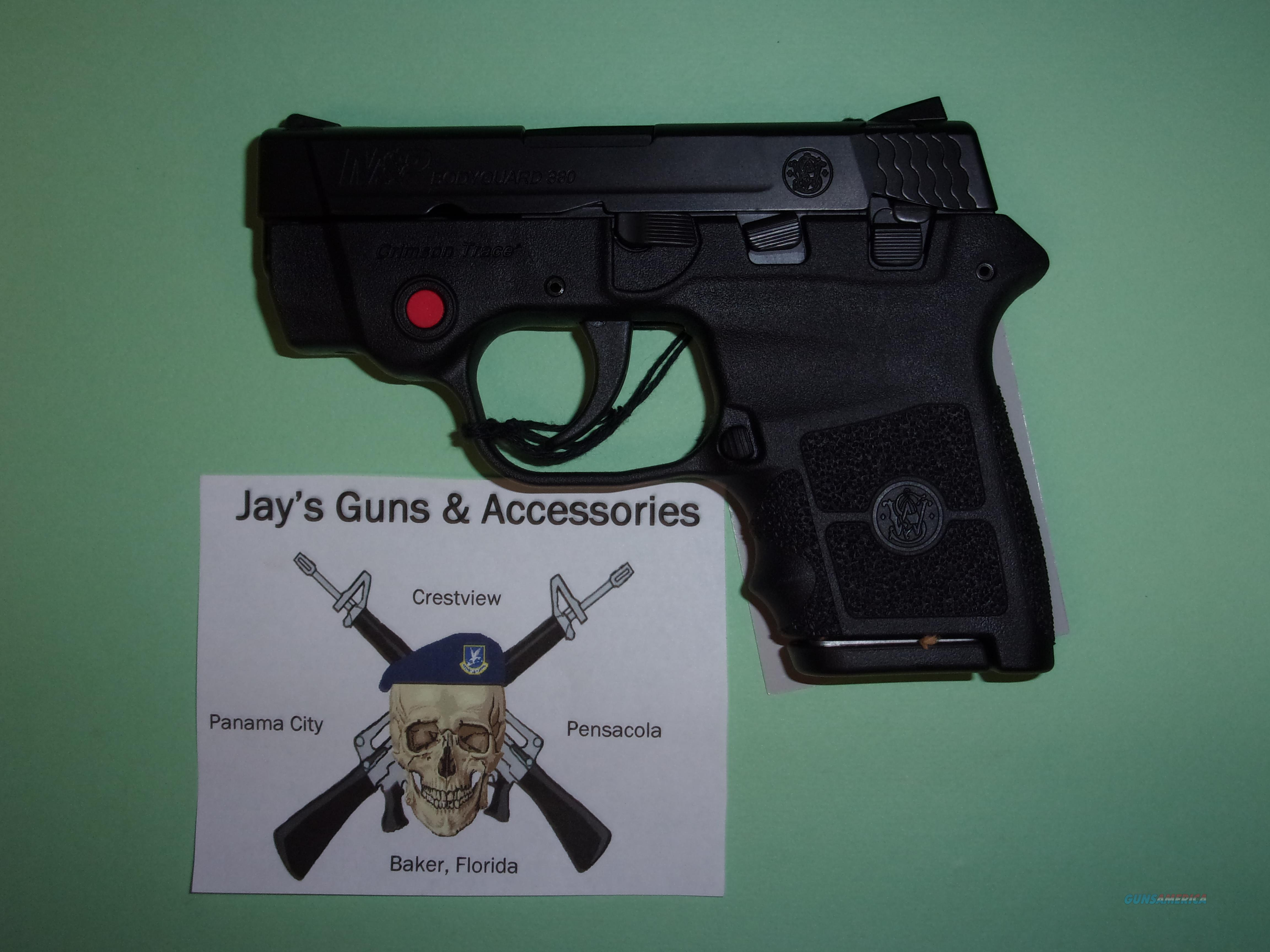 Smith & Wesson M&P Bodyguard 380 w/Laser  Guns > Pistols > Smith & Wesson Pistols - Autos > Polymer Frame