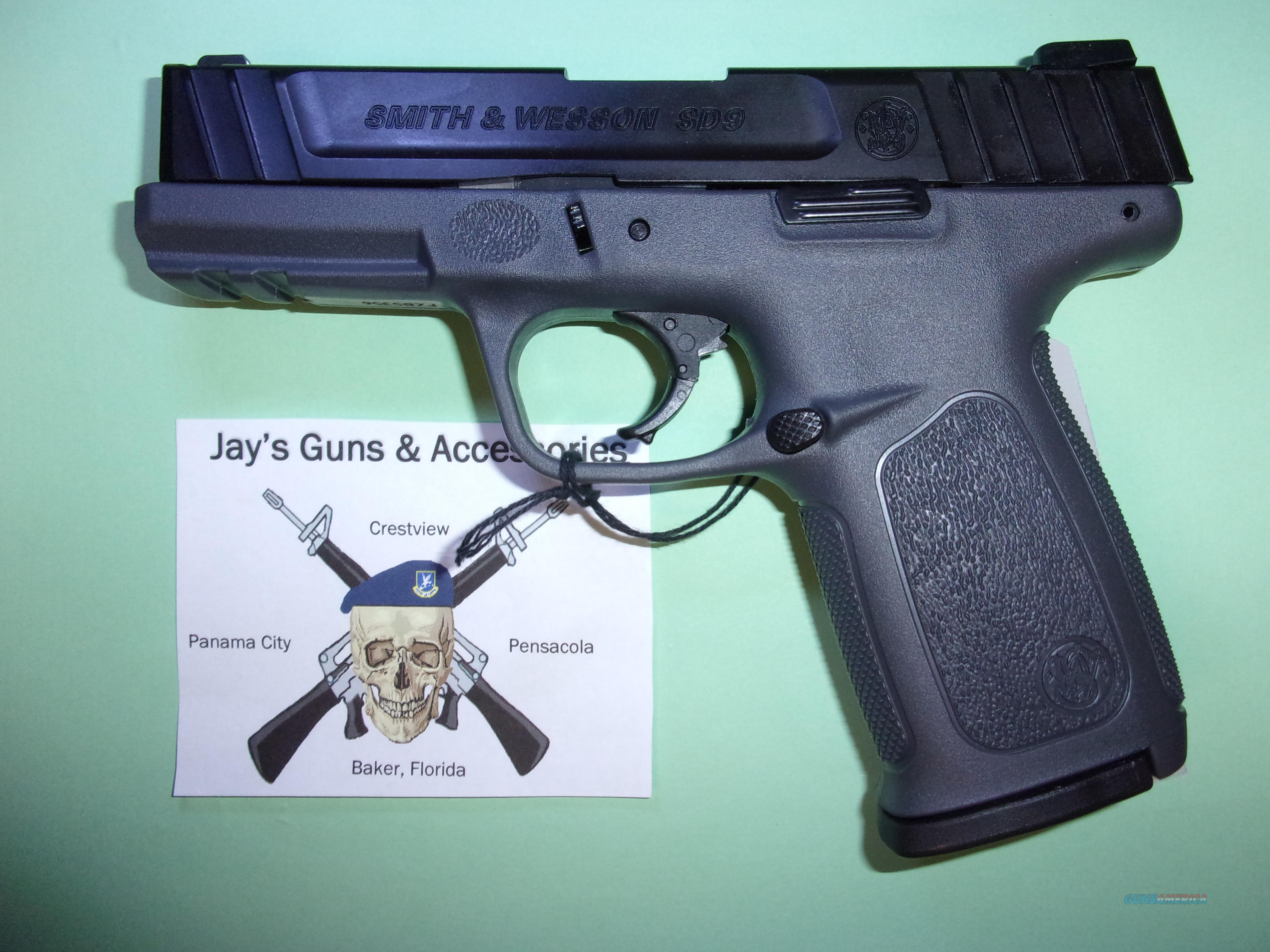 Smith & Wesson SD9 (11995)  Guns > Pistols > Smith & Wesson Pistols - Autos > Polymer Frame