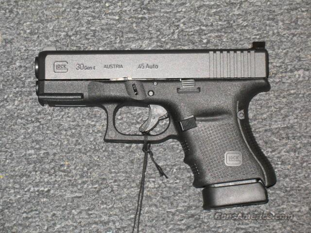 Glock 30 Gen 4 (in stock ready to ship)  Guns > Pistols > Glock Pistols > 29/30/36