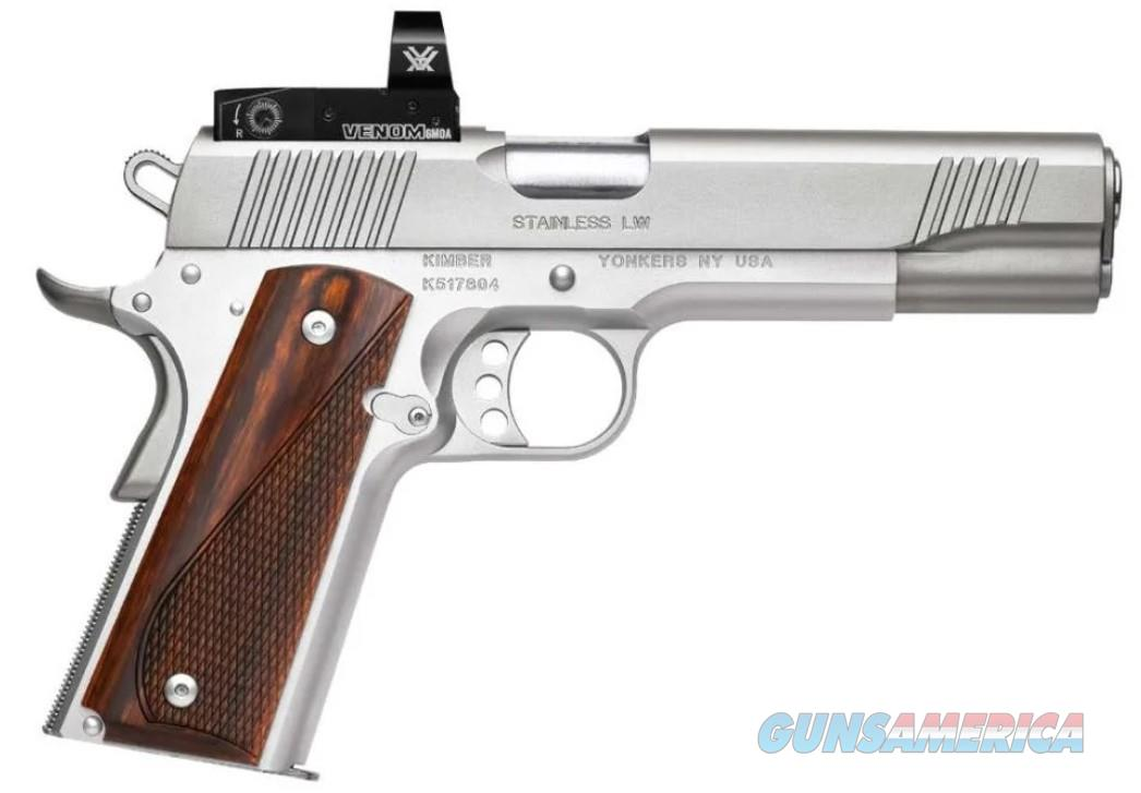 Kimber Stainless LW (3700633) w/Red Dot  Guns > Pistols > Kimber of America Pistols > 1911