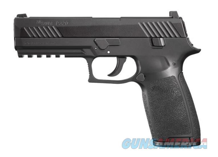 Sig Sauer P320 Advanced Sport Pellet CO2 Pistol (AIR-P320-177-30R-BLK)  Non-Guns > Air Rifles - Pistols > Adult High Velocity