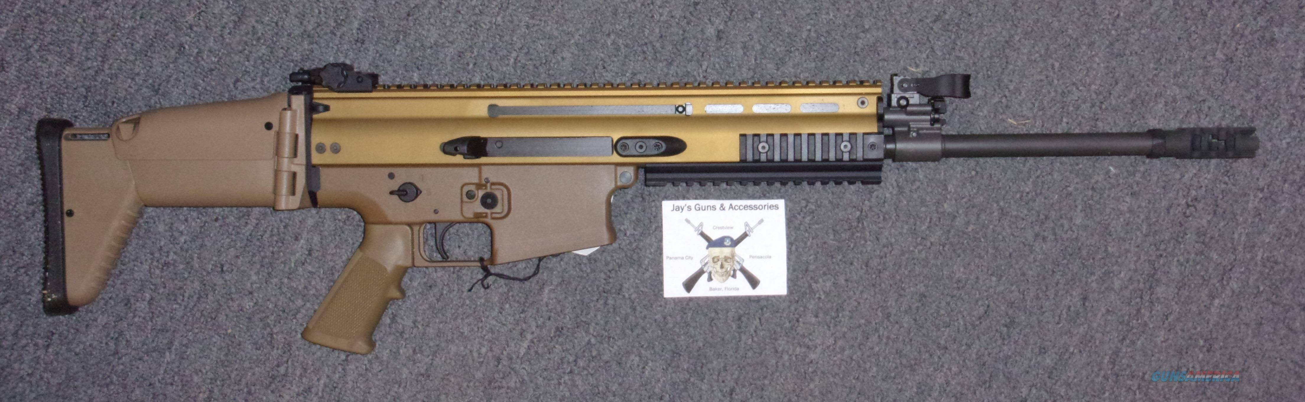 FNH SCAR 17S w/FDE Finish in .308 win Guns > Pistols > FNH - Fabrique Nationale (FN) Rifles > Semi-auto > SCAR