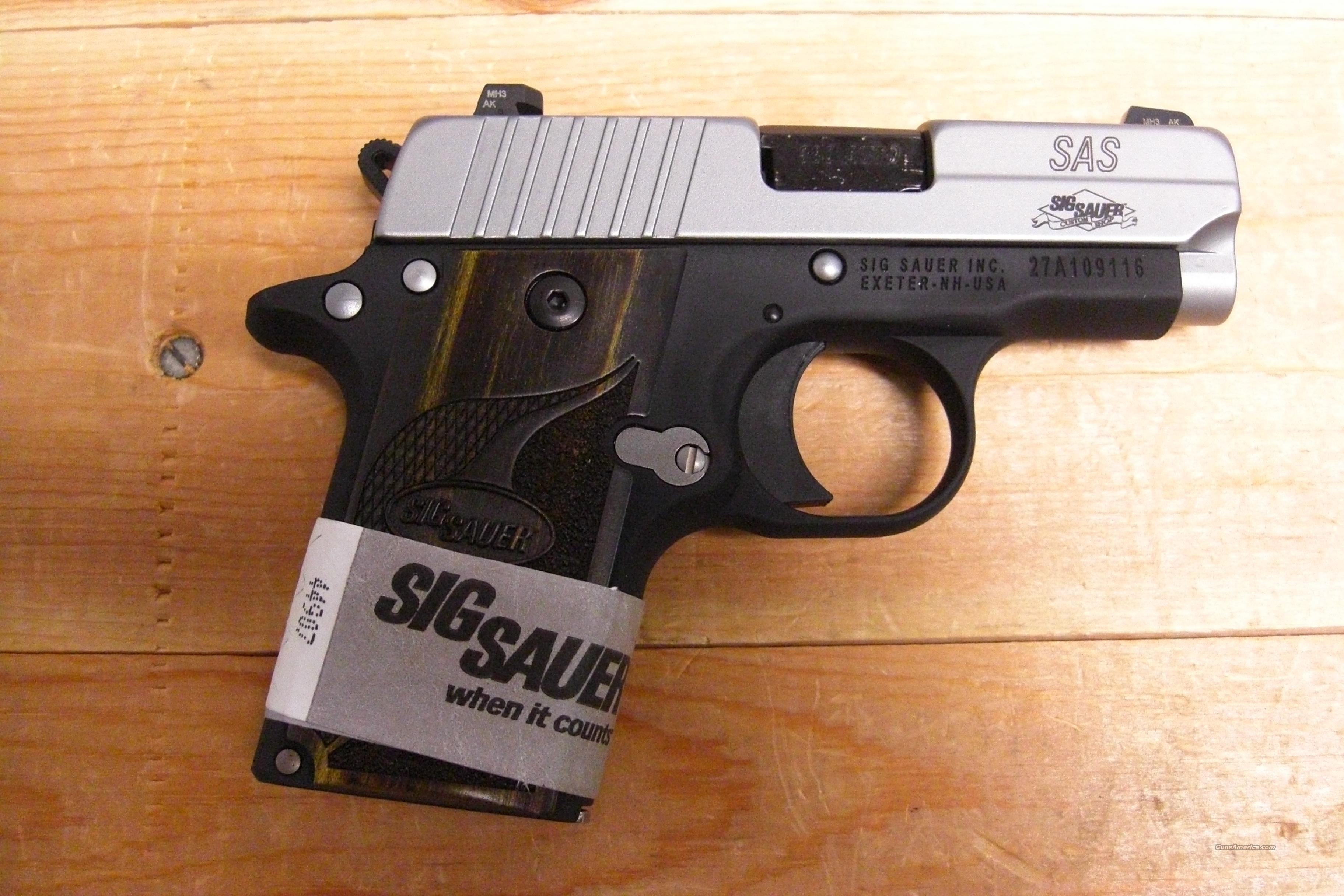 P238 SAS w/night sights  Guns > Pistols > Sig - Sauer/Sigarms Pistols > Other