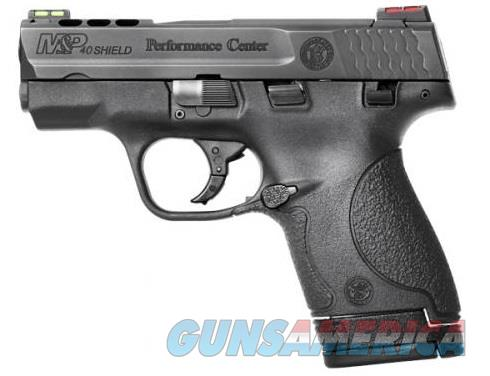 Smith & Wesson M&P40 Shield Performance Center (10109)  Guns > Pistols > Smith & Wesson Pistols - Autos > Shield