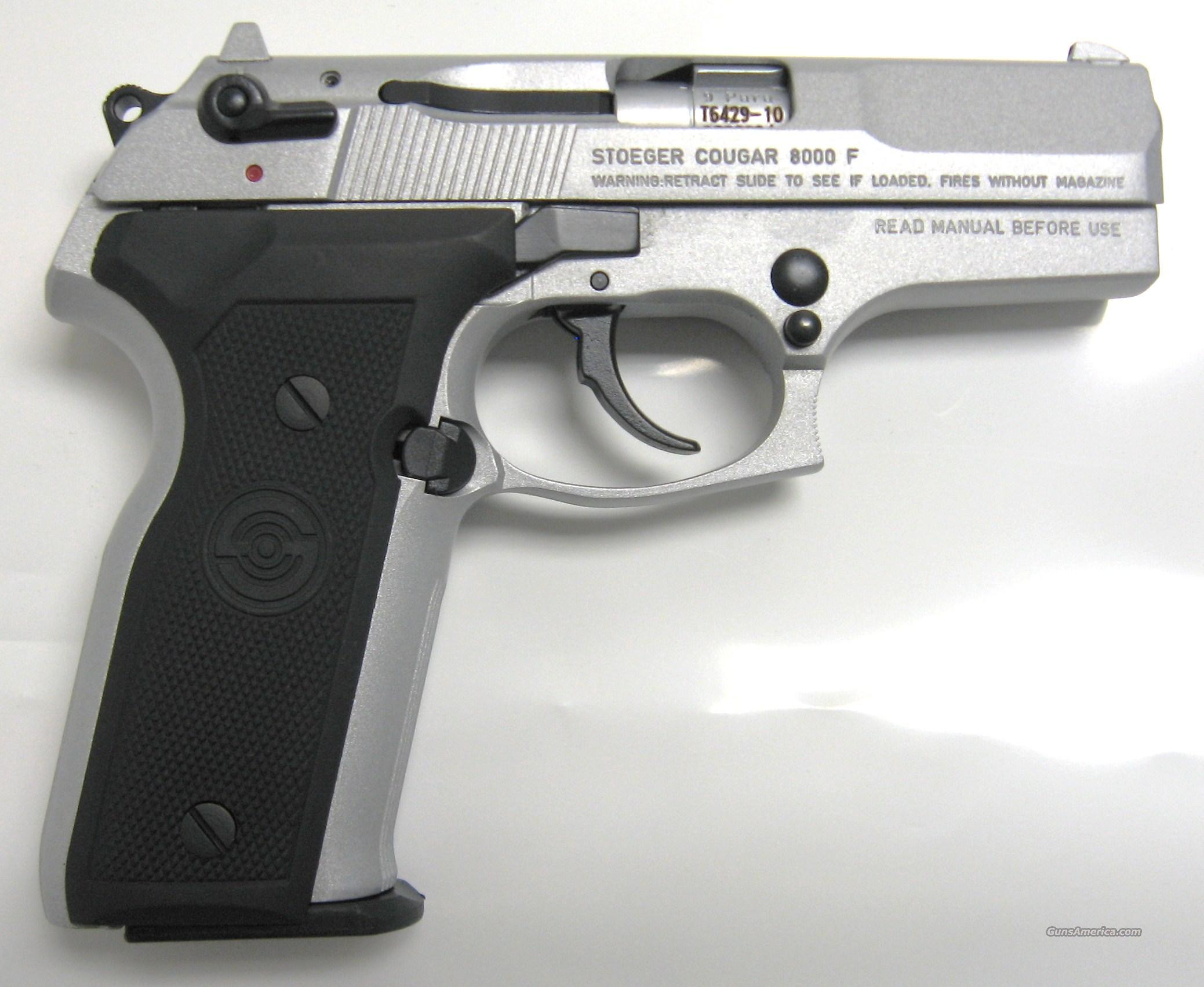 Stoeger cougar 8000 f 9mm guns gt pistols gt s misc pistols
