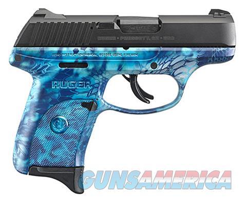 Ruger LC9S w/Blue Kryptec Finish (03256)  Guns > Pistols > Ruger Semi-Auto Pistols > LC9