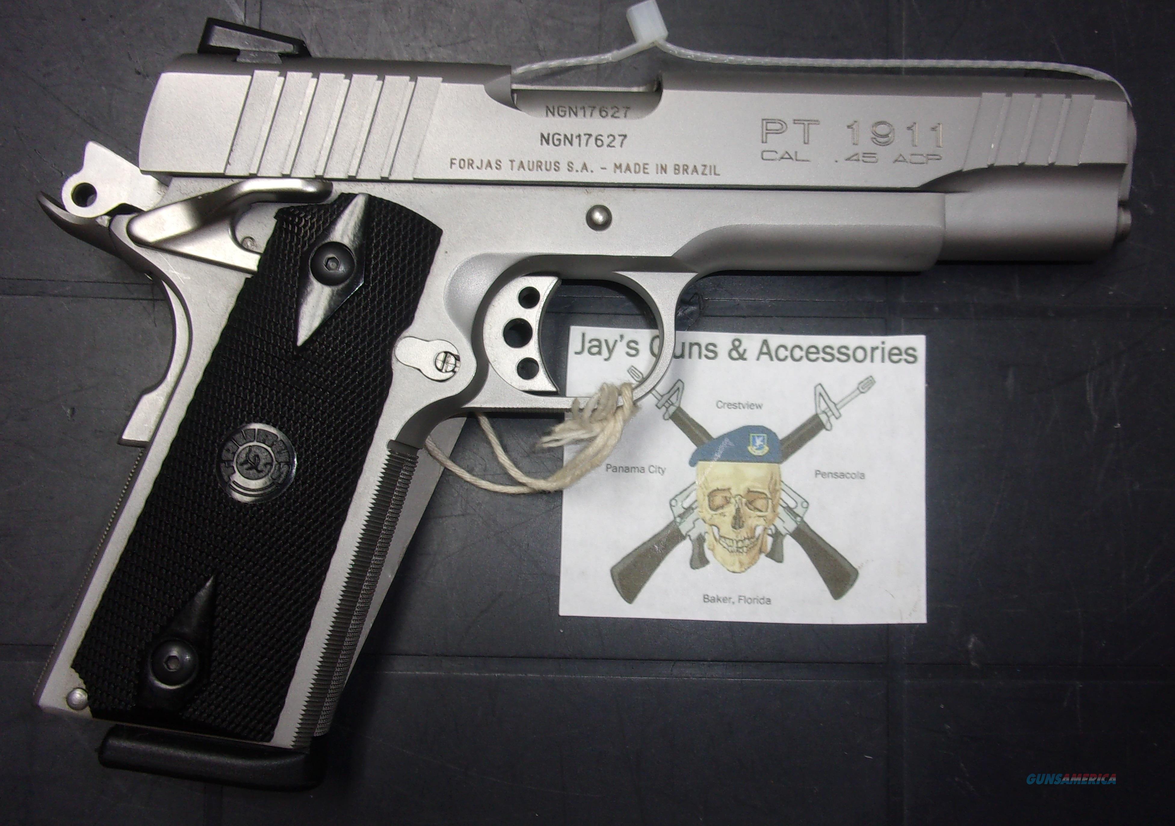 Taurus PT1911  Guns > Pistols > Taurus Pistols > Semi Auto Pistols > Steel Frame